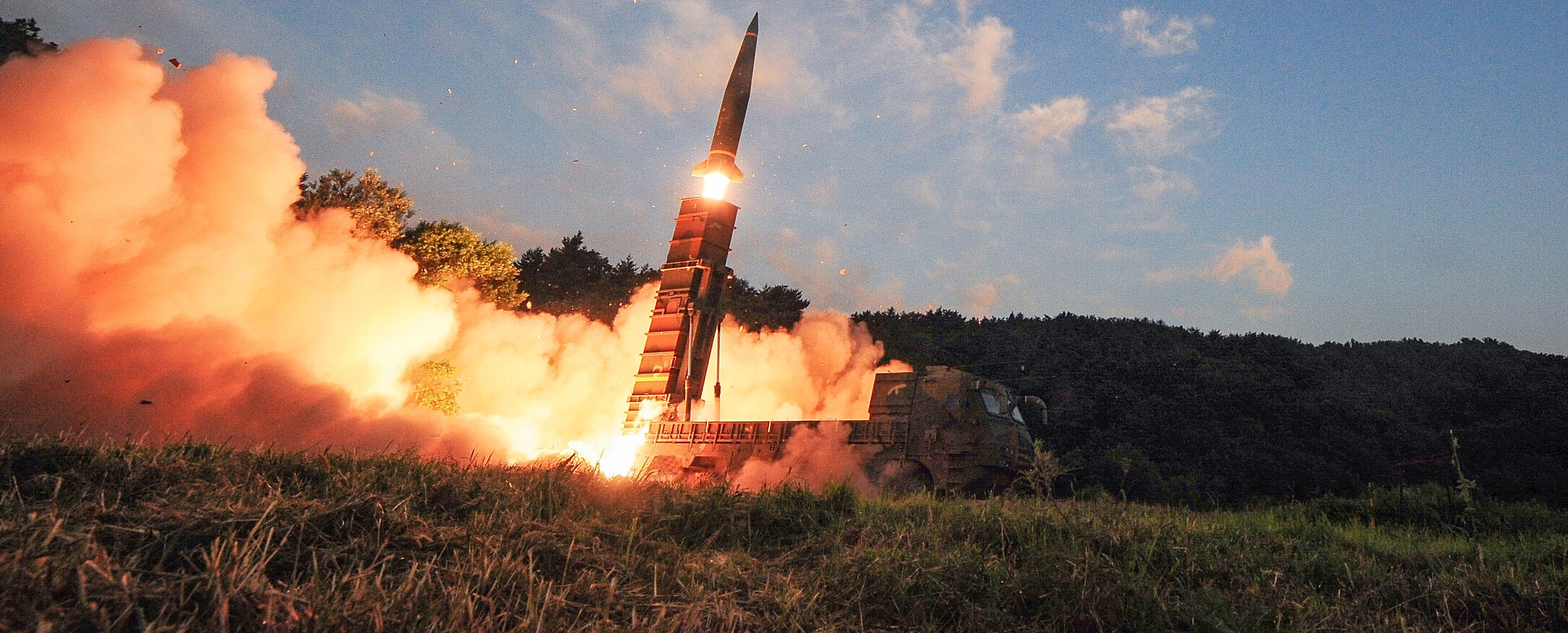 South Korea testing the Hyunmoo-2 ballistic missile, September 2017 (Photo: South Korean Defense Ministry/Getty Images)
