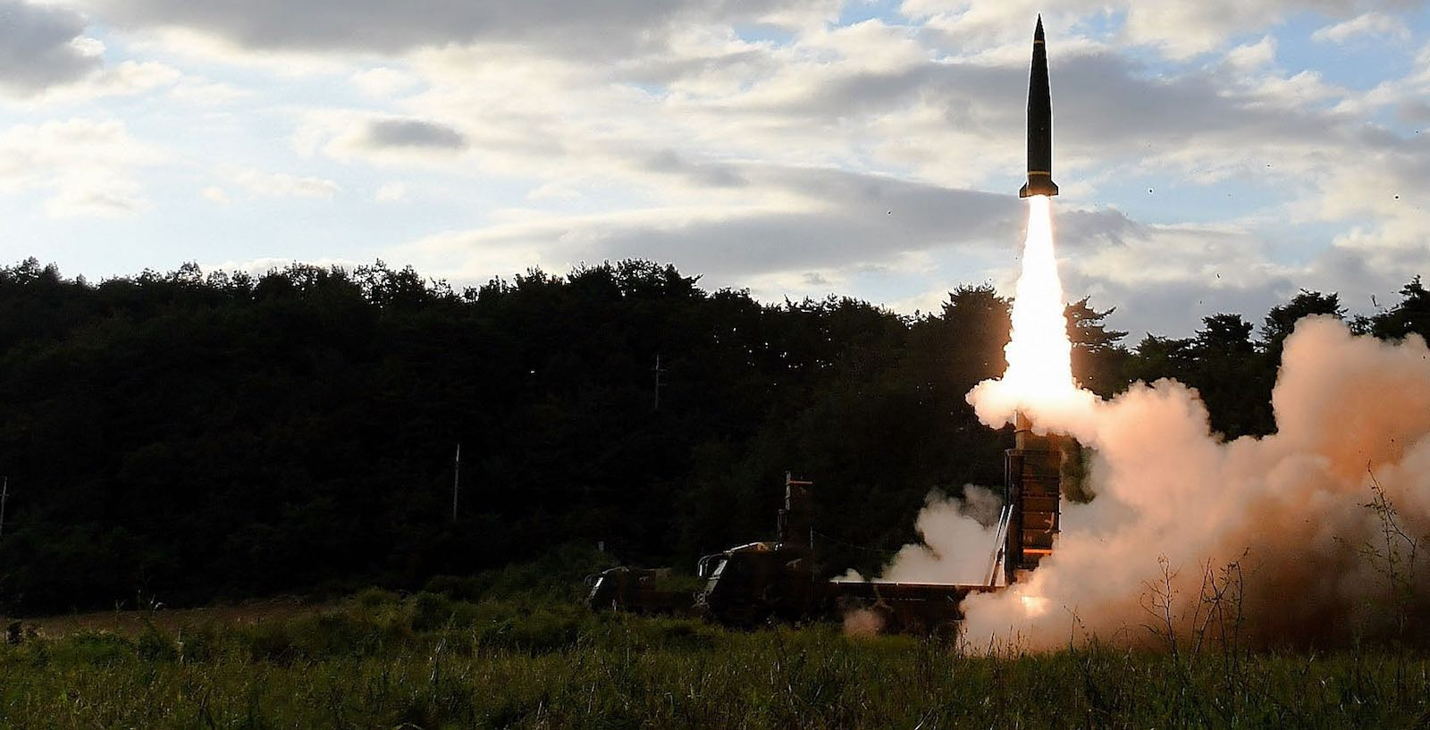 South Korea tests missiles in response to North Korean missile tests in September 2017 (Photo: South Korean Defense Ministry via Getty)