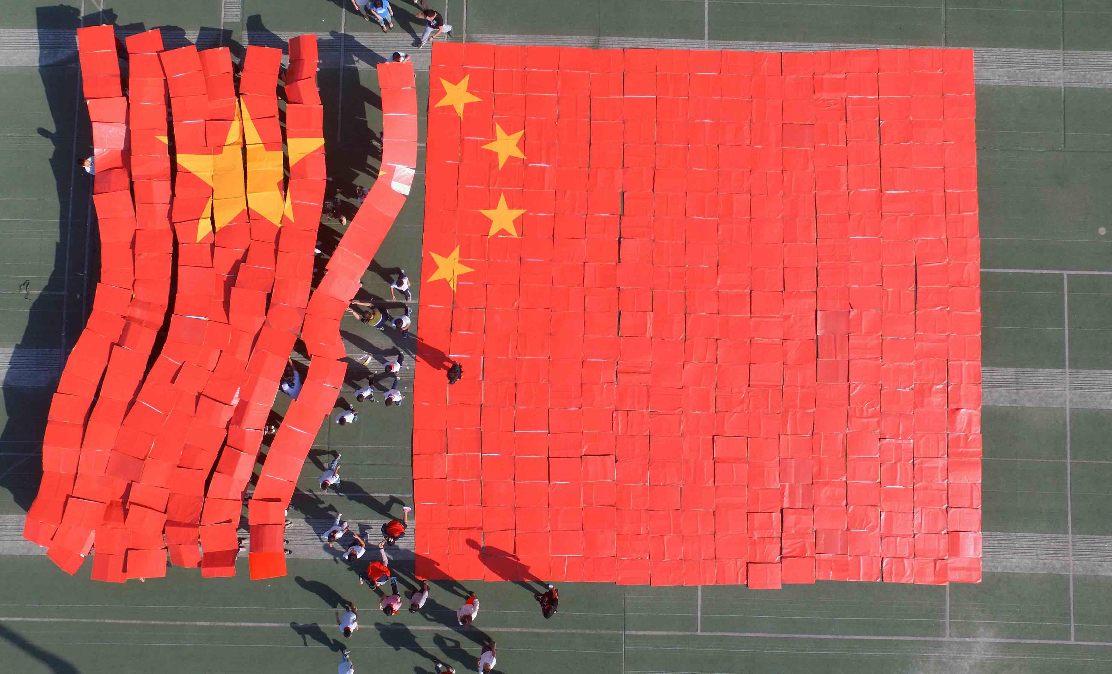 National Day in Shijiazhuang, China (Photo: VCG via Getty)