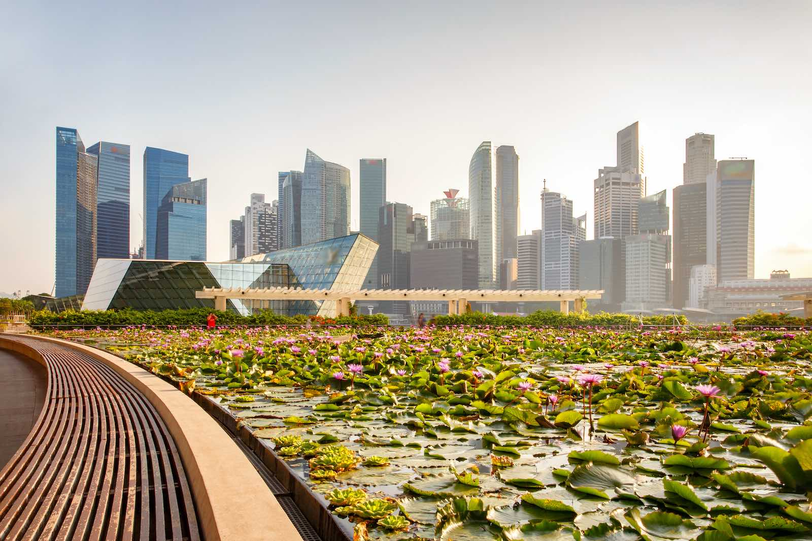 Singapore skyline (Pakin Songmor/Getty Images)