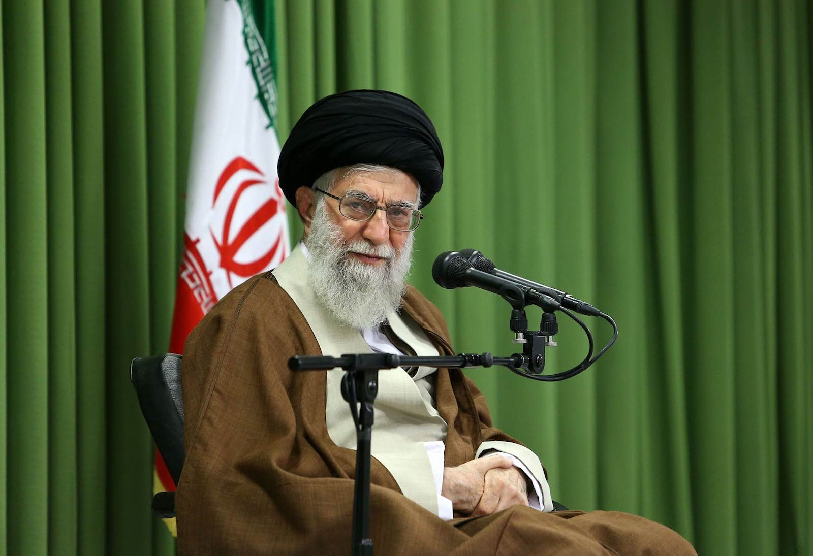 Khamenei and the IRGC have a history of disrupting efforts at rapprochement (Photo: Iranian Leader's Press Office via Getty Images)
