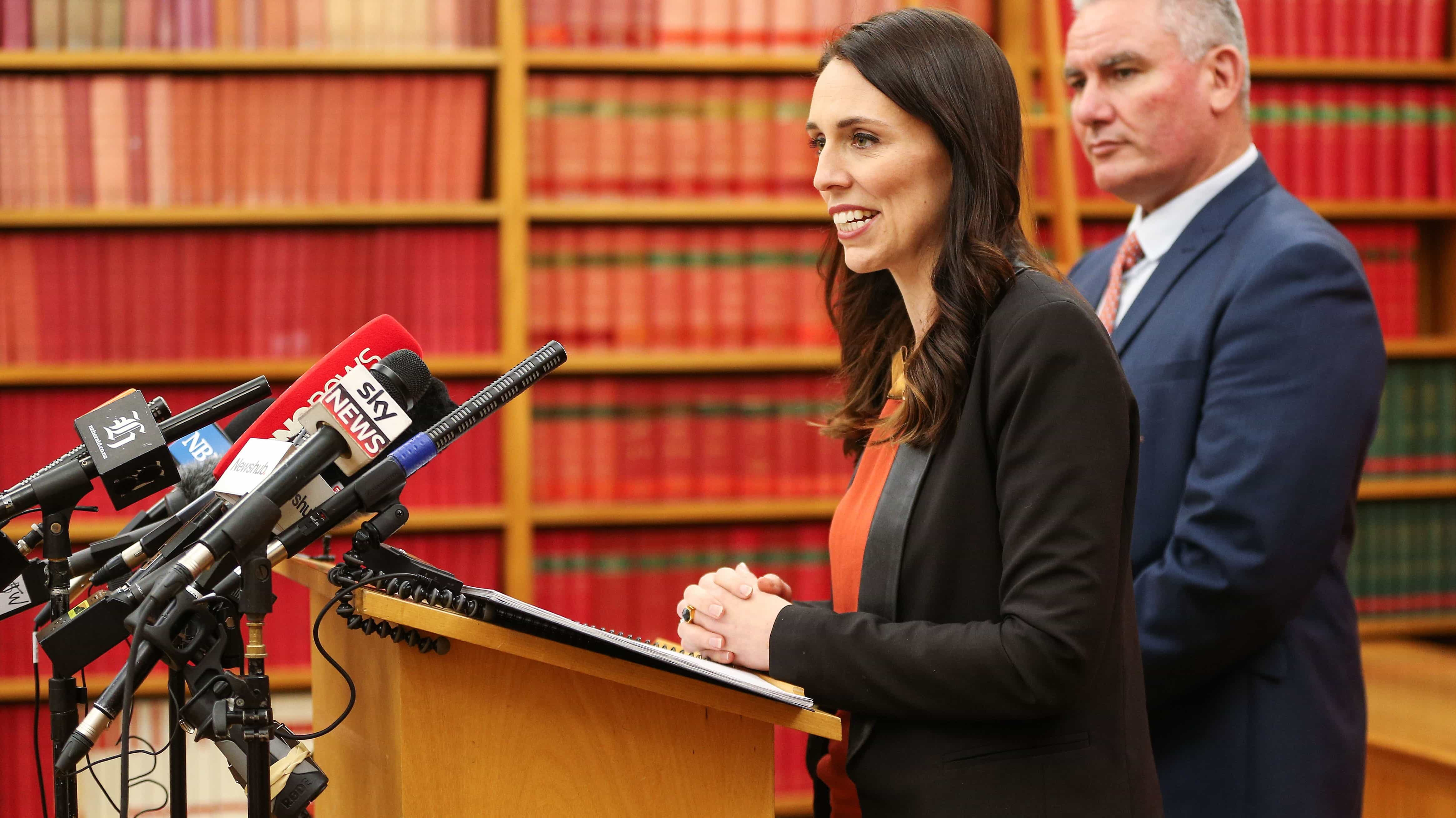 Labour leader and Prime Minister-elect Jacinda Ardern, October 2017 (Photo: Hagen Hopkins/Getty Images)