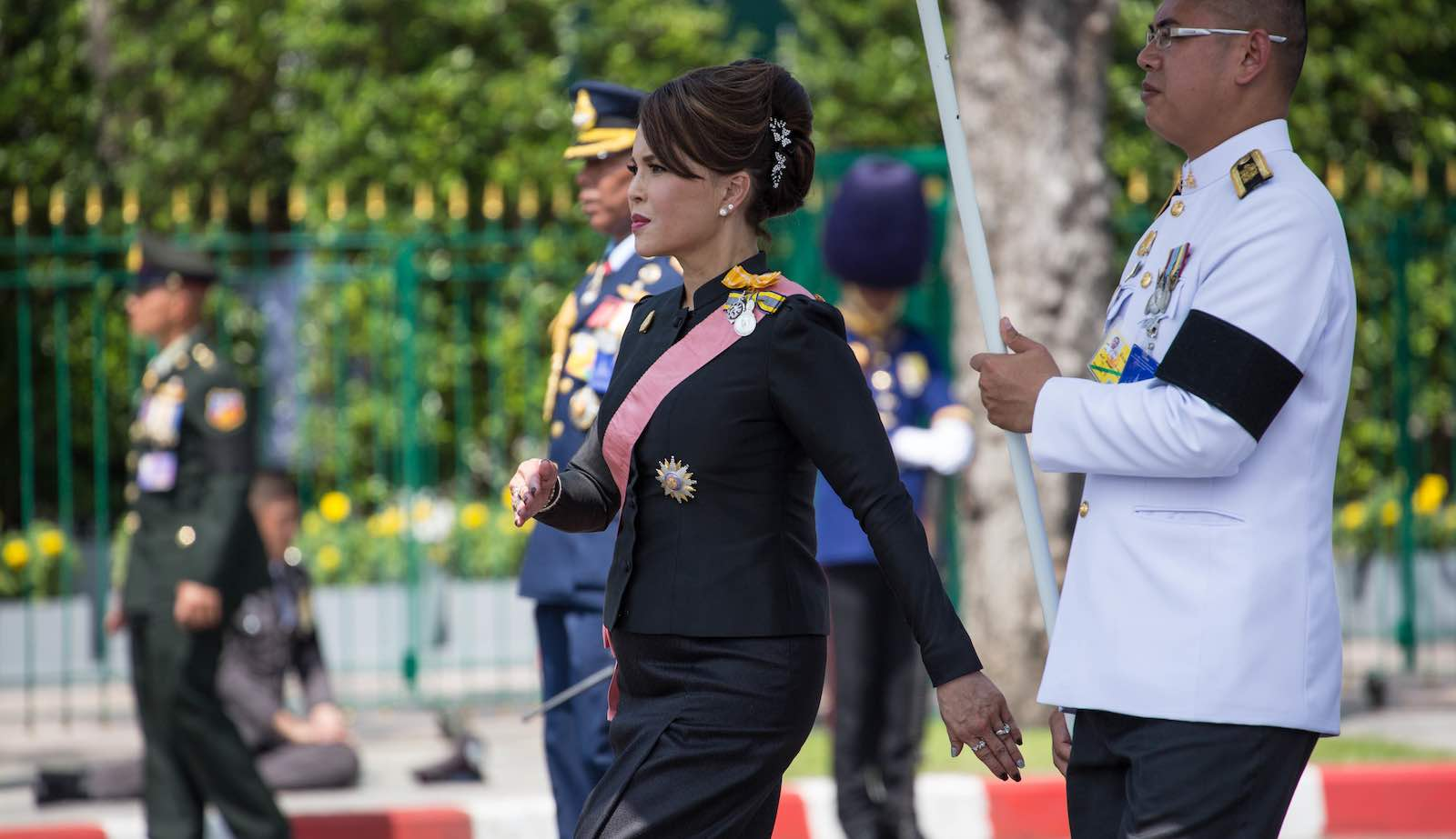 Thailand's Princess Ubolratana, here in 2017, was announced on Friday as a surprise candidate for prime minister (Photo: Guillaume Payen via Getty)