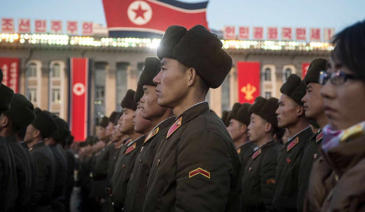 North Korean soldiers (Photo: Kim Won-Jin via Getty)