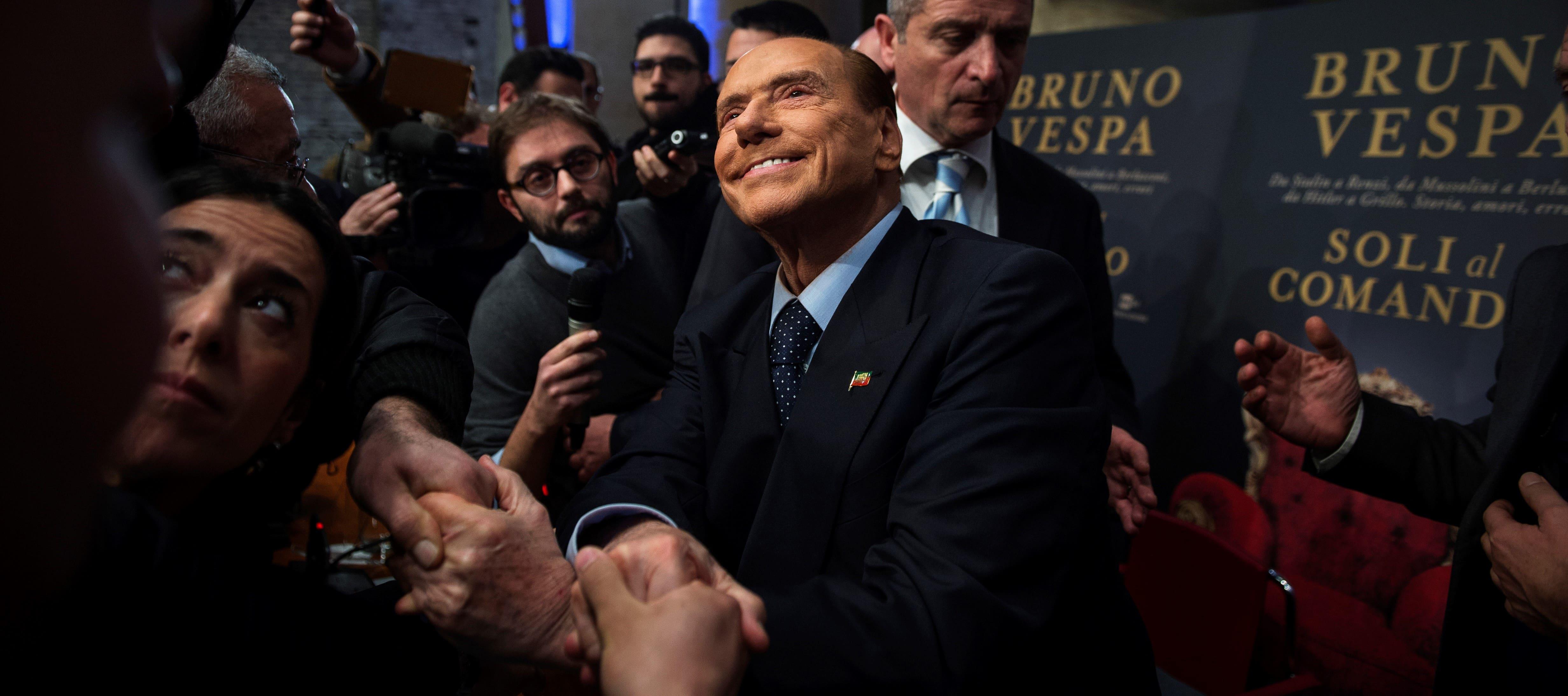 Forza Italia leader Silvio Berlusconi, December 2017 (Photo: Antonio Masiello/Getty Images)
