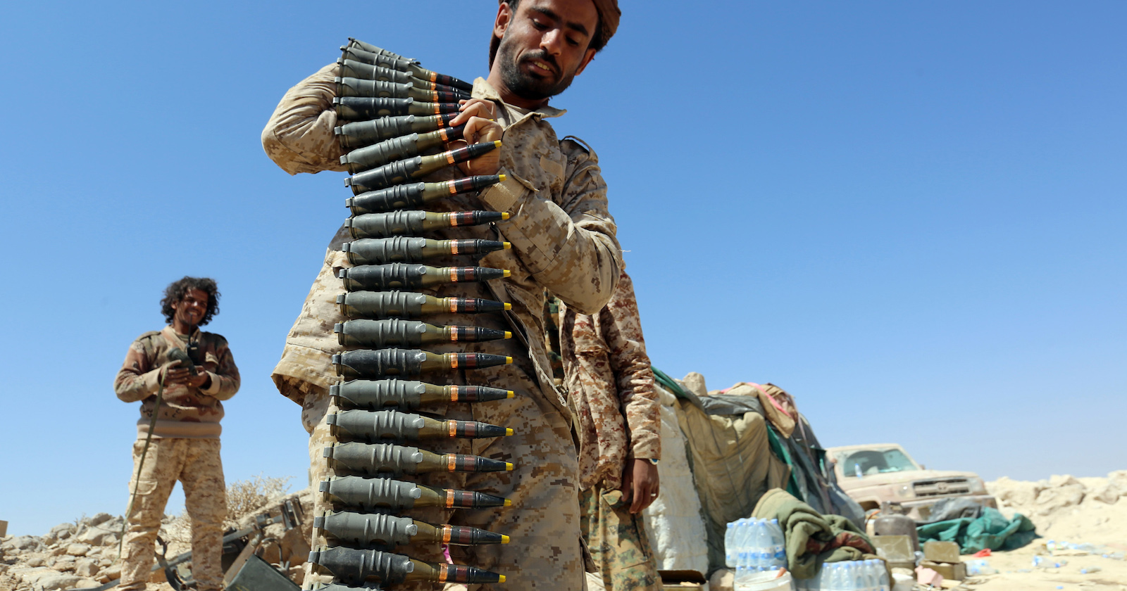 Saudi Arabia was the world's second largest arms importer in 2017 (Photo: Abdullah al-Qadry via Getty)