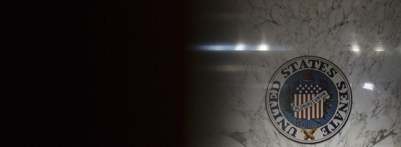 Senate Intelligence Committee hearing on worldwide threats on 13 February. (Photo: Samuel Corum/Getty)