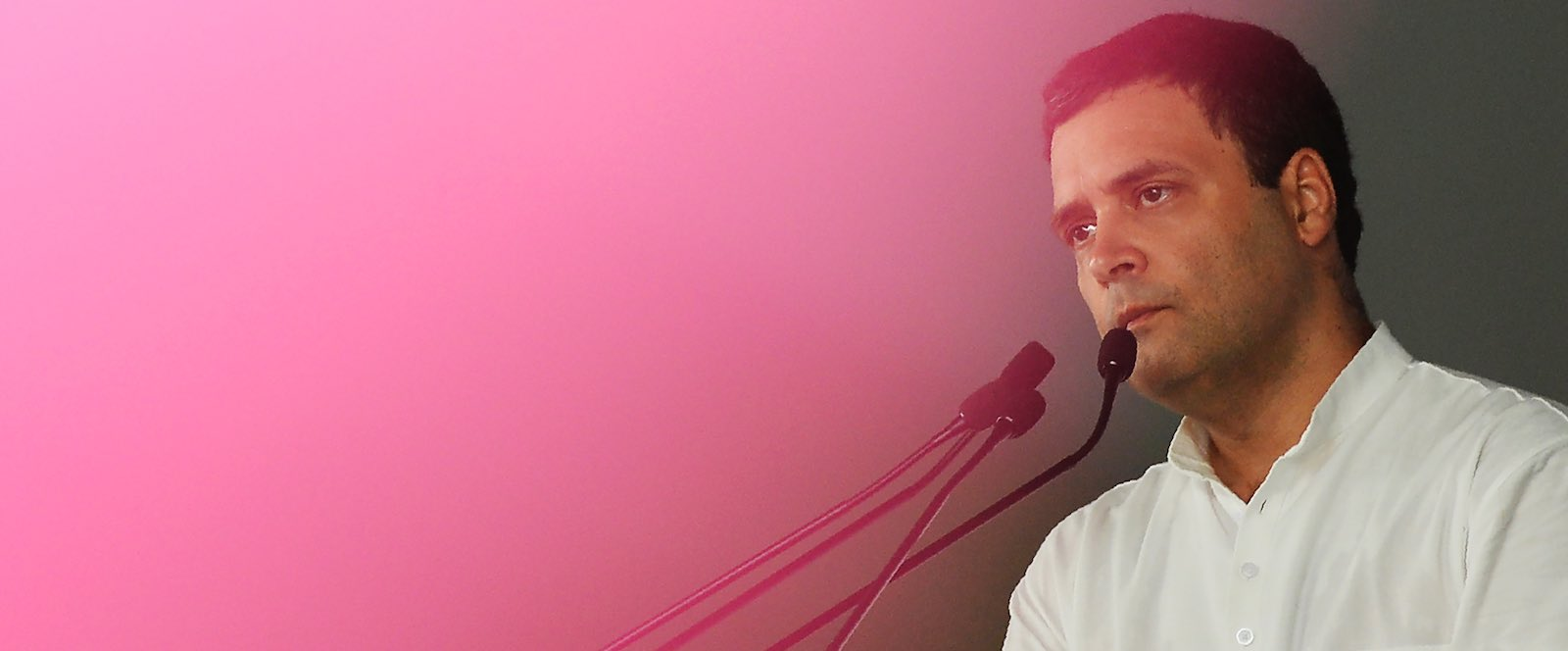 Rahul Gandhi is hoping to restore the Congress Party and defeat Narendra Modi (Photo: Sajjad Hussain via Getty)