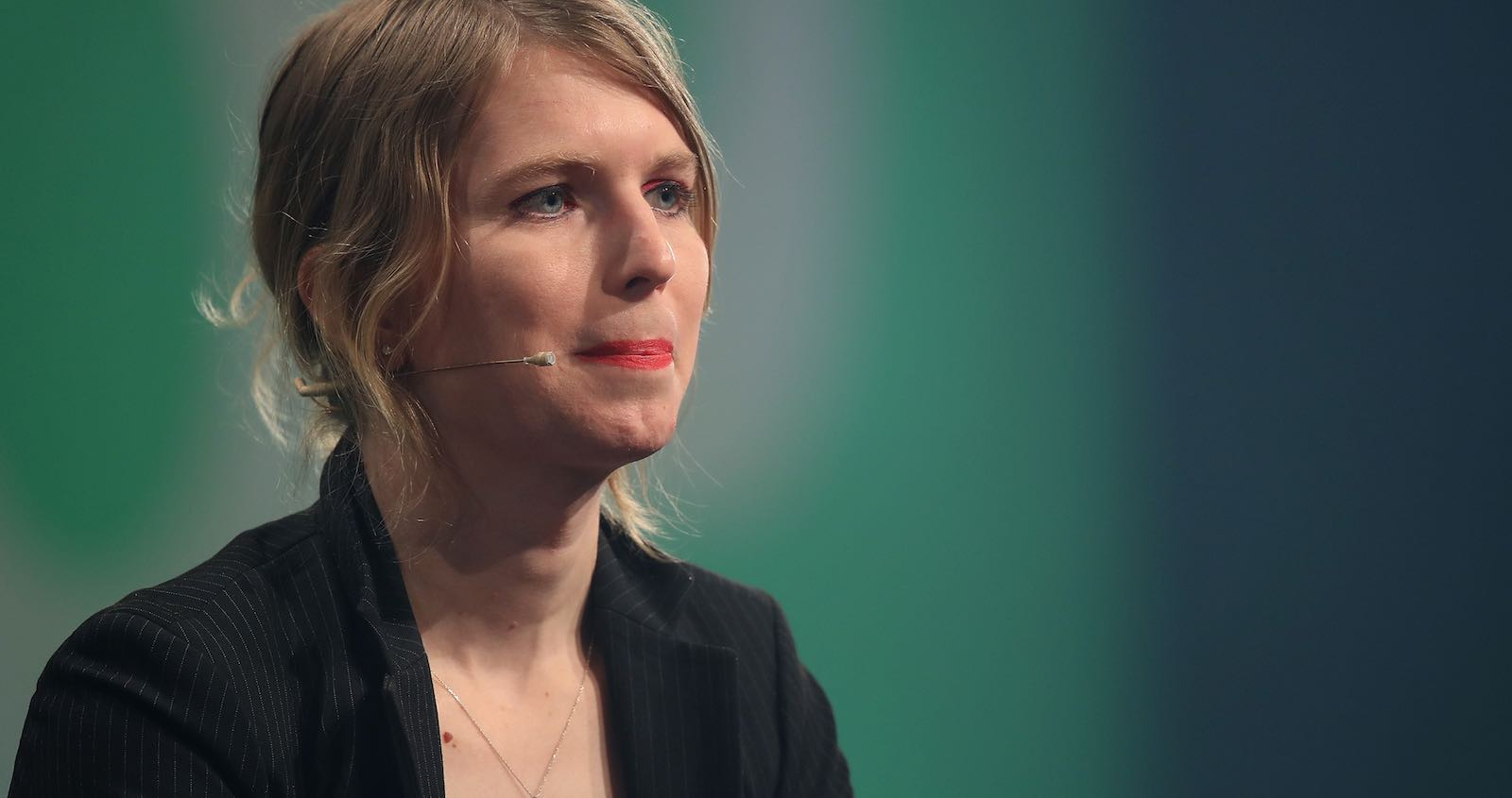 Chelsea Manning in May during an appearance in Berlin, Germany (Photo: Sean Gallup/Getty)