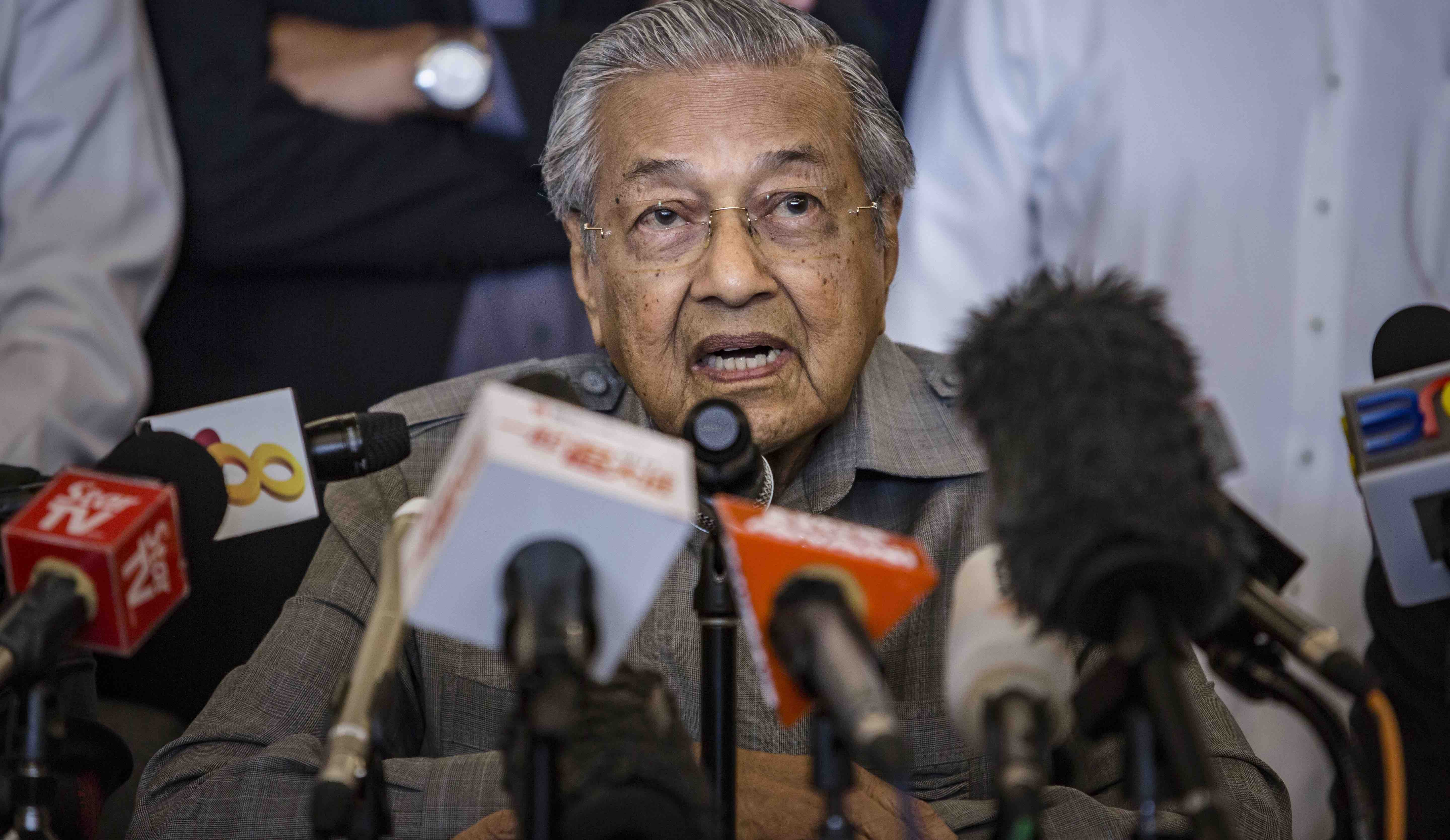 Mahathir Mohamad, chairman of Pakatan Harapan, or the Alliance of Hope (Photo: Ulet Ifansasti/Getty)