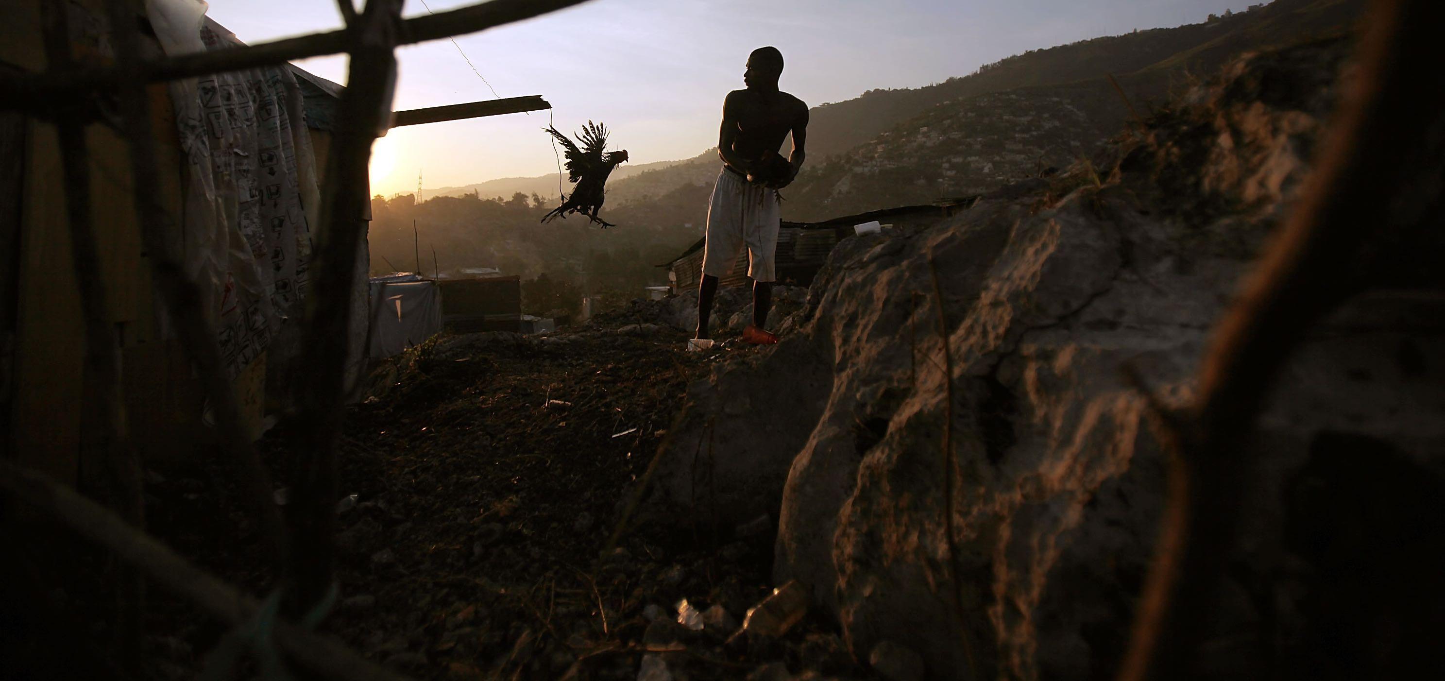 Aftermath of the 2010 Haiti earthquake (Photo: Mario Tama/Getty)