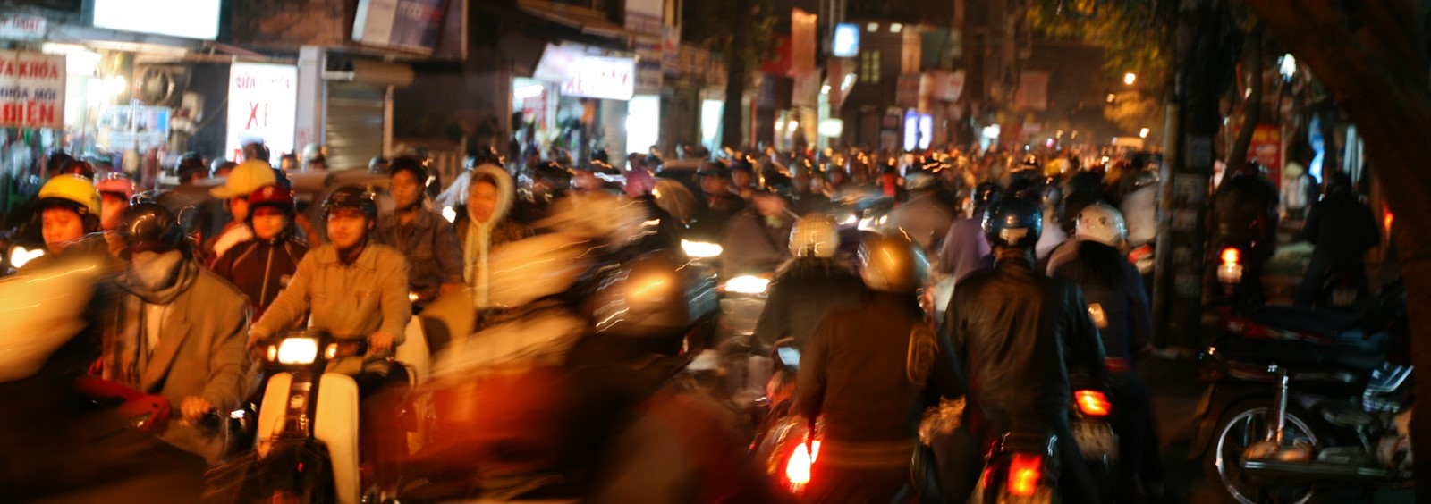 Hanoi traffic (Photo:Flickr/ Michael Phan)