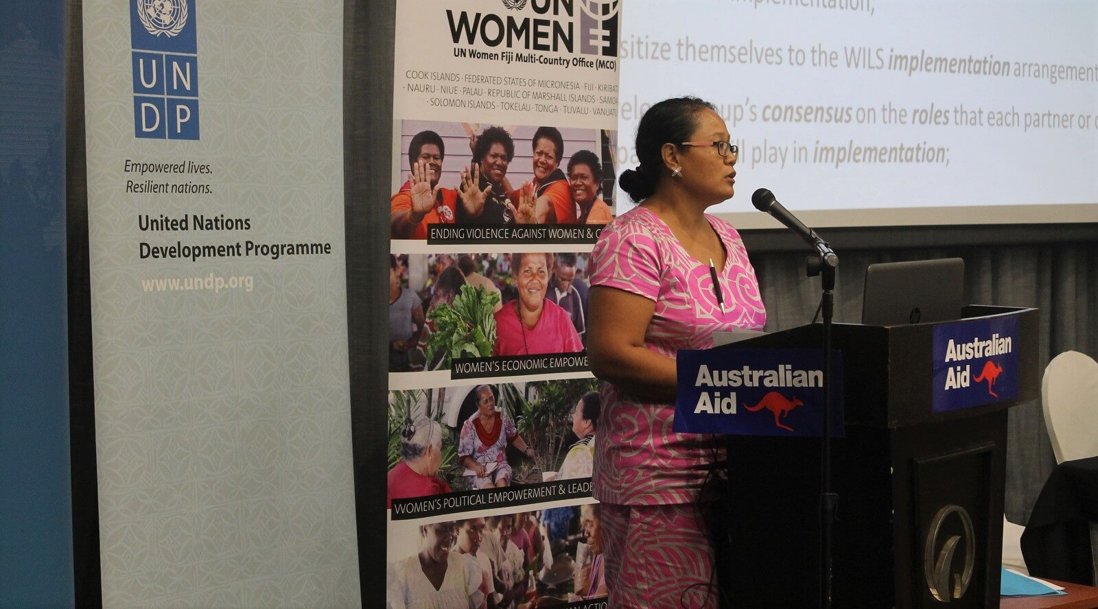 Launch of the Women in Leadership in Samoa Project, 4 April 2018 (Photo: Cherelle Fruean, UN Women Asia and the Pacific/Flickr)