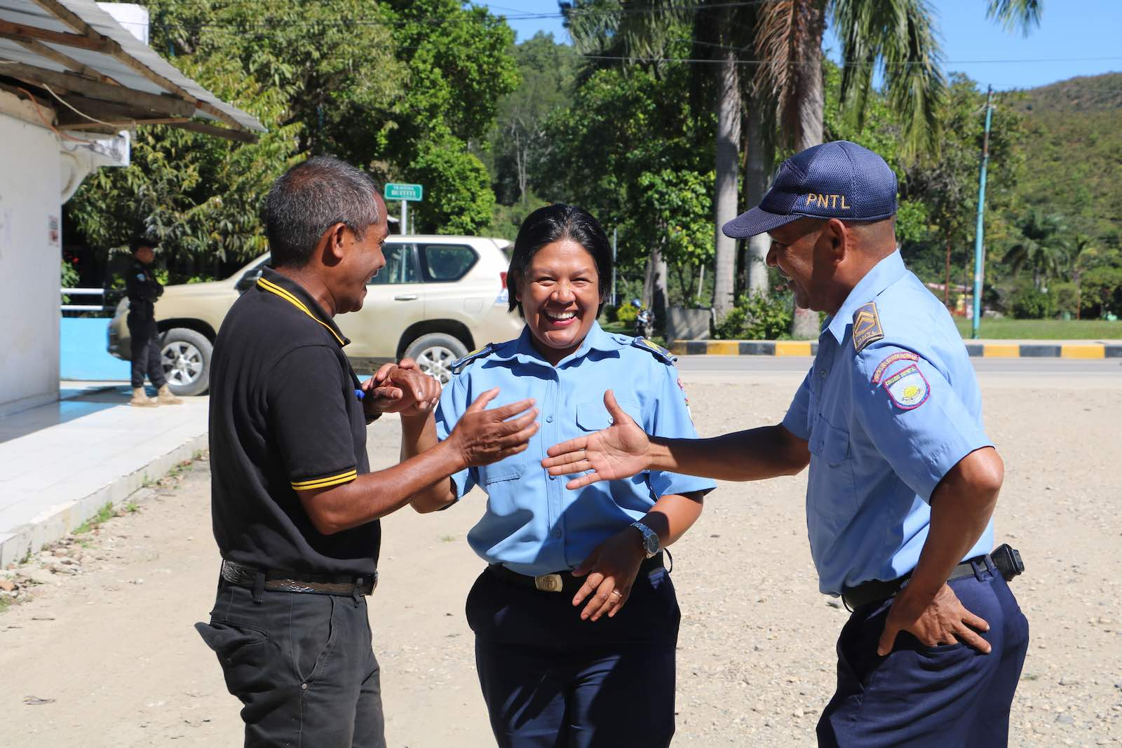 Nearly all people in Timor-Leste – 95% – believe that the security situation in the last year has either improved or stayed the same (Photo: TAF)
