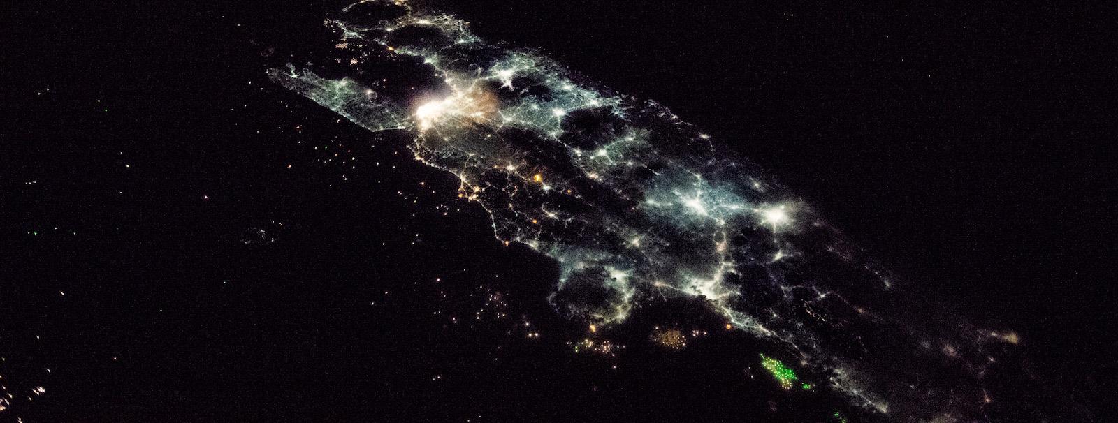 Java, Indonesia (Photo: NASA)