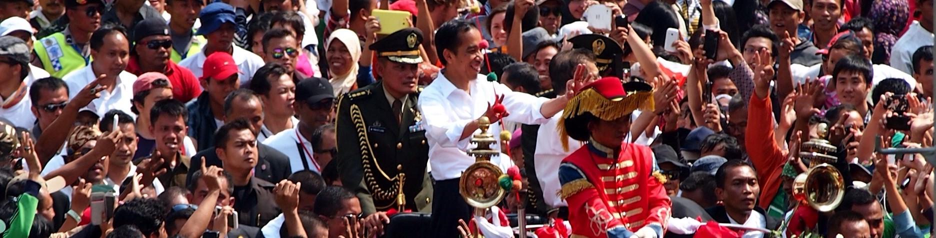 The Jokowi inaugration, 20 October 2014, Jakarta (Photo: Flickr/Kreshna Aditya)