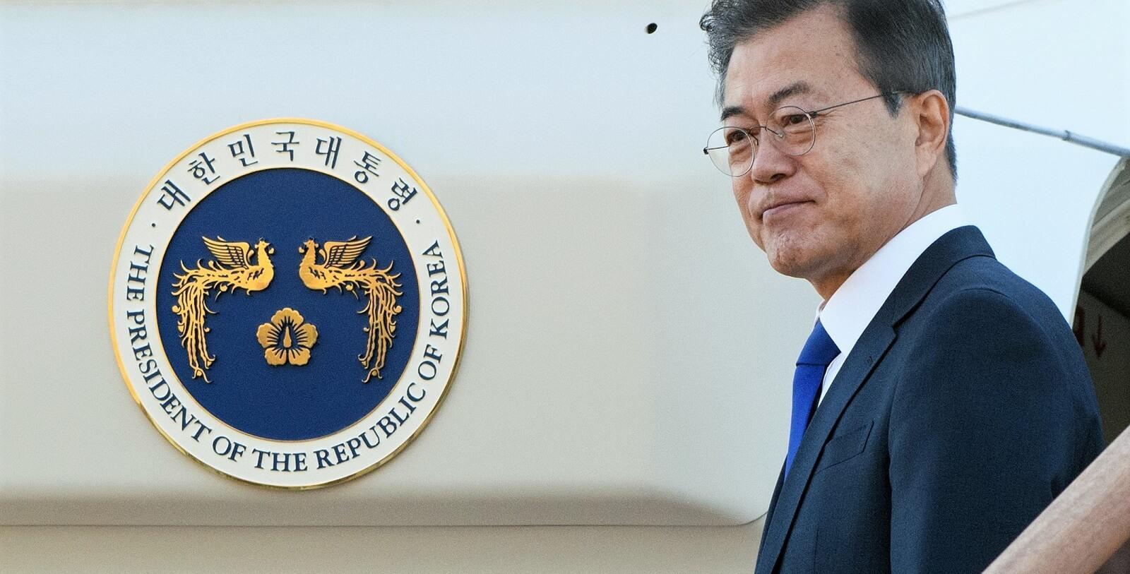 South Korean President Moon Jae-in, 9 May 2018 (Photo: Republic of Korea/Flickr)