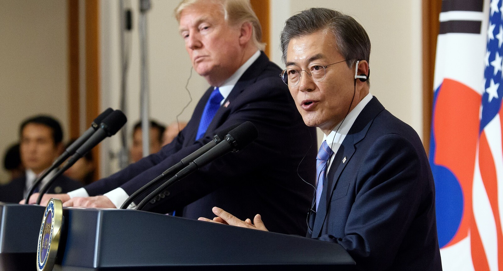 US President Donald Trump and South Korean President Moon Jae-in (Photo: Republic of Korea/Flickr)