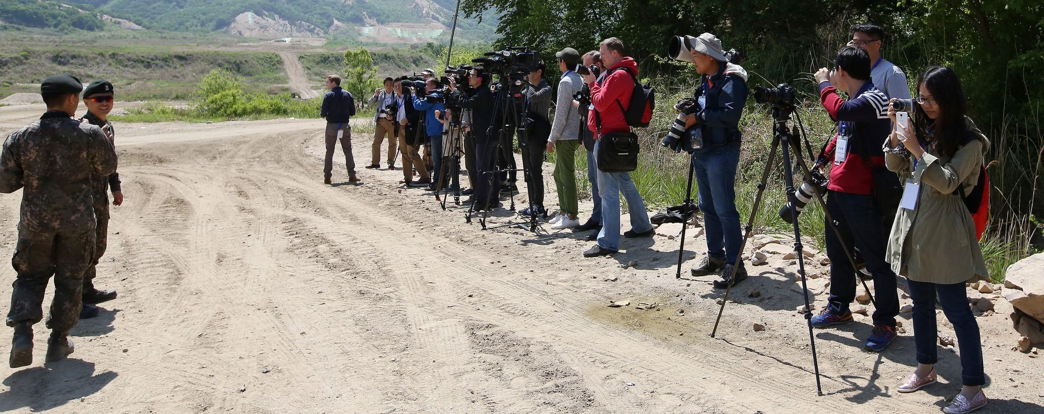 South Korea military tour for foreign correspondents (Photo: Republic of Korea/Flickr)