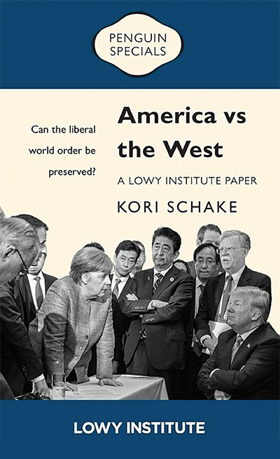 Kori Schake - AMERICA VS THE WEST published with Penguin