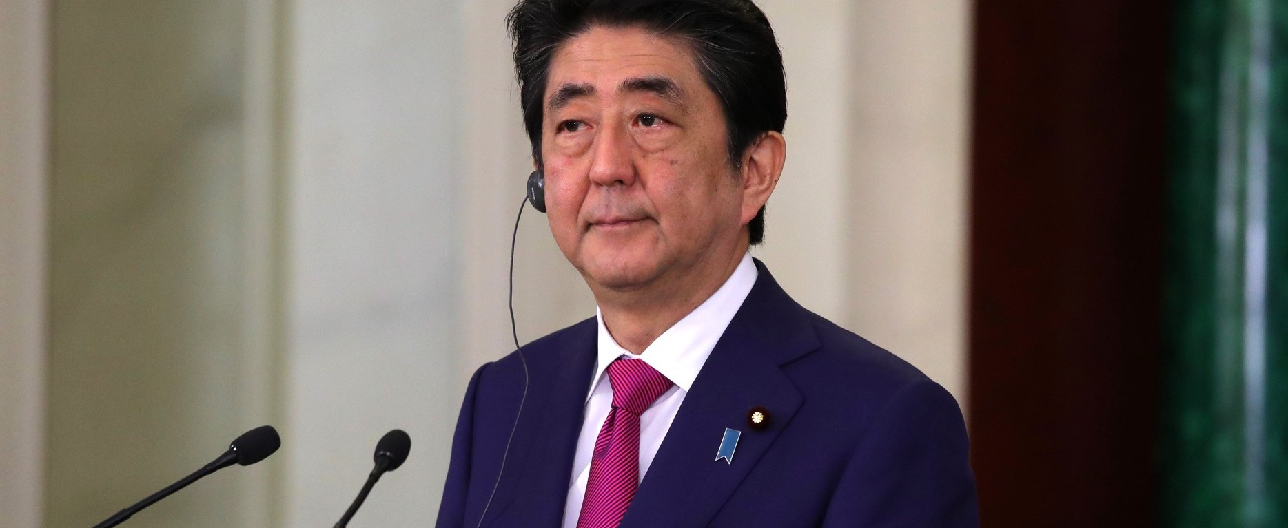 Japan's Shinzo Abe (Photo: Kremlin.ru)