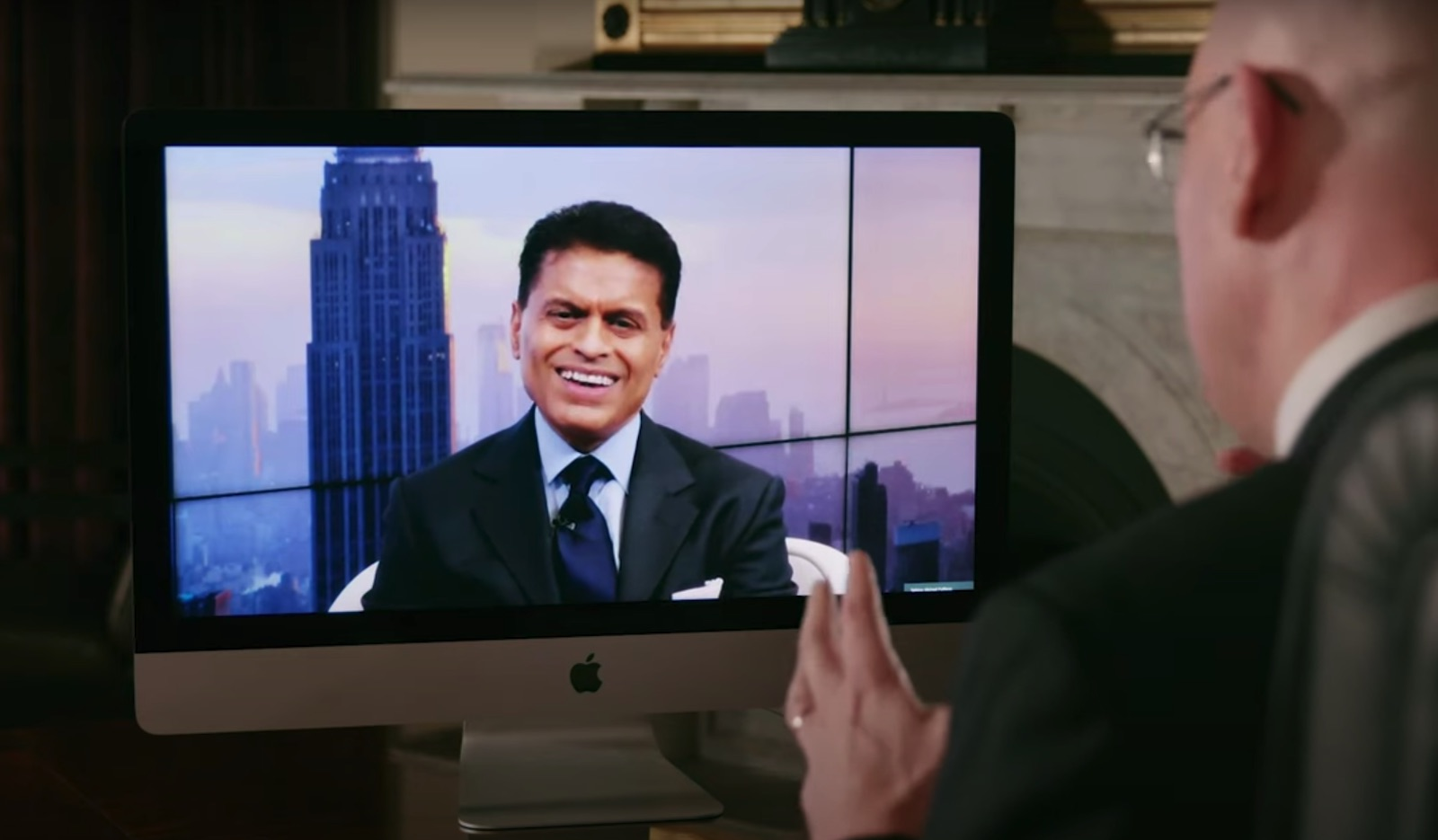 Fareed Zakaria speaking from New York with the Lowy Institute's Michael Fullilove for the 2020 Lowy Lecture