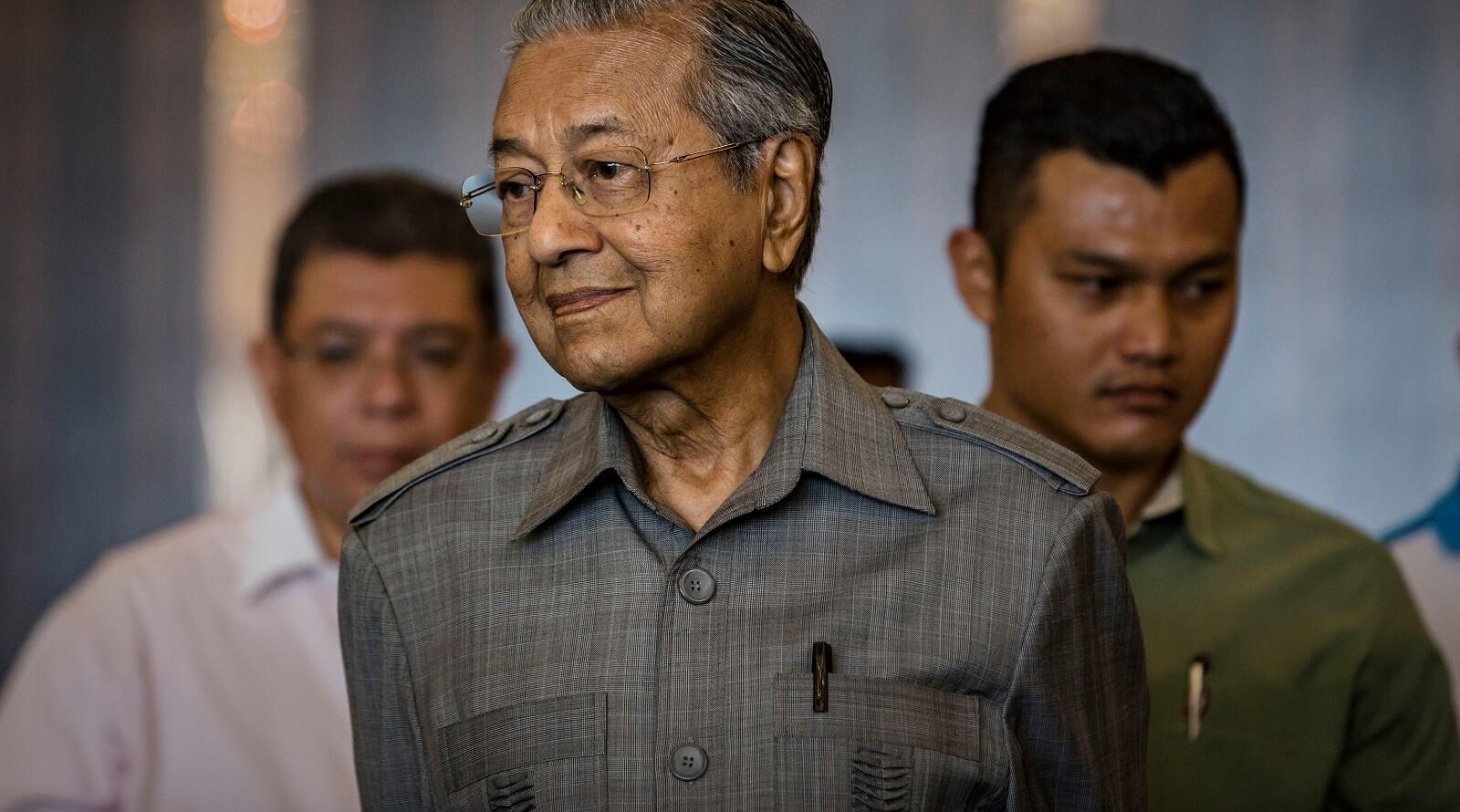 Malaysian Prime Minister Mahathir Mohamad, 10 May 2018 (Photo: Ulet Ifansasti/Getty)