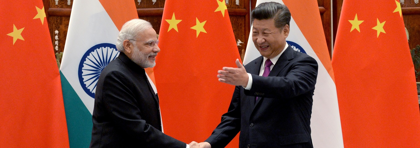 India's Narendra Modi and China's Xi Jinping - fiercely nationalistic leaders with a sense of personal destiny - are steering a more integrated Asia (Photo: Getty Images)