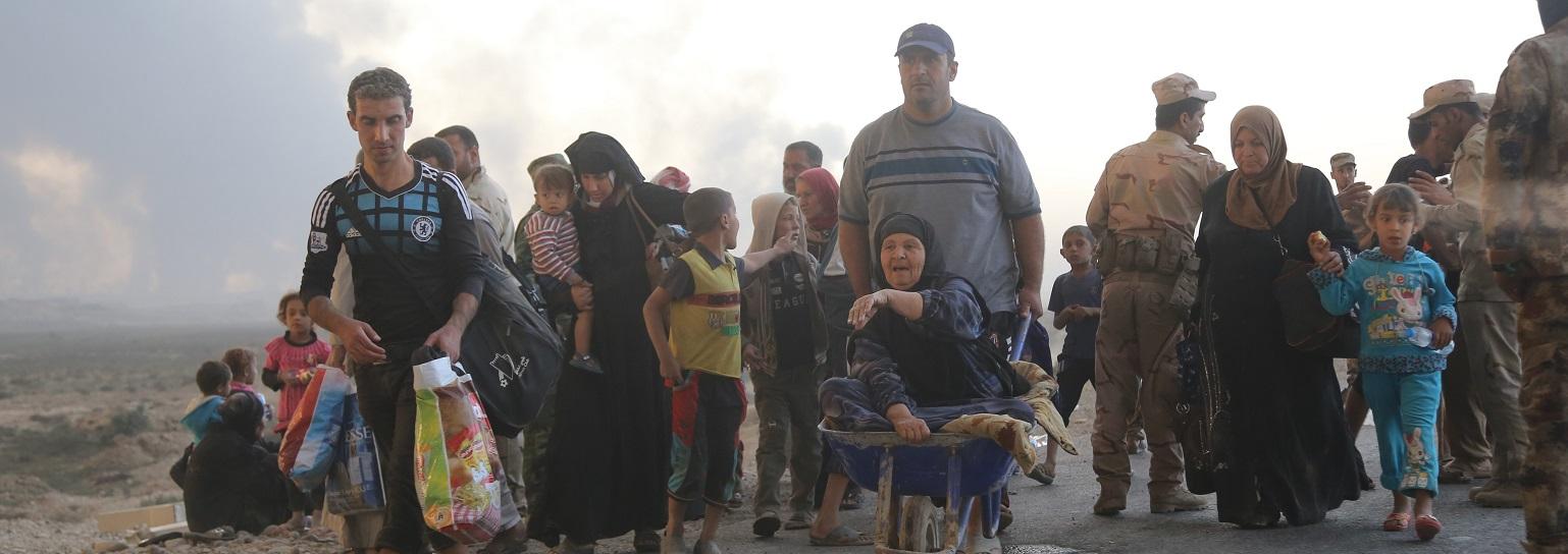 Refugees from Mosul  (Photo: Feriq Ferec/Anadolu Agency/Getty Images)
