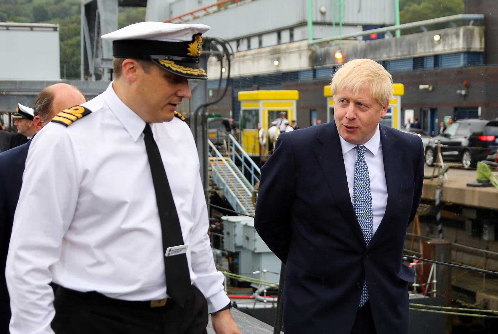 Boris Johnson has abandoned any pretence that his type of Brexit would exclude security and defence matters (Photo: UK Ministry of Defence)