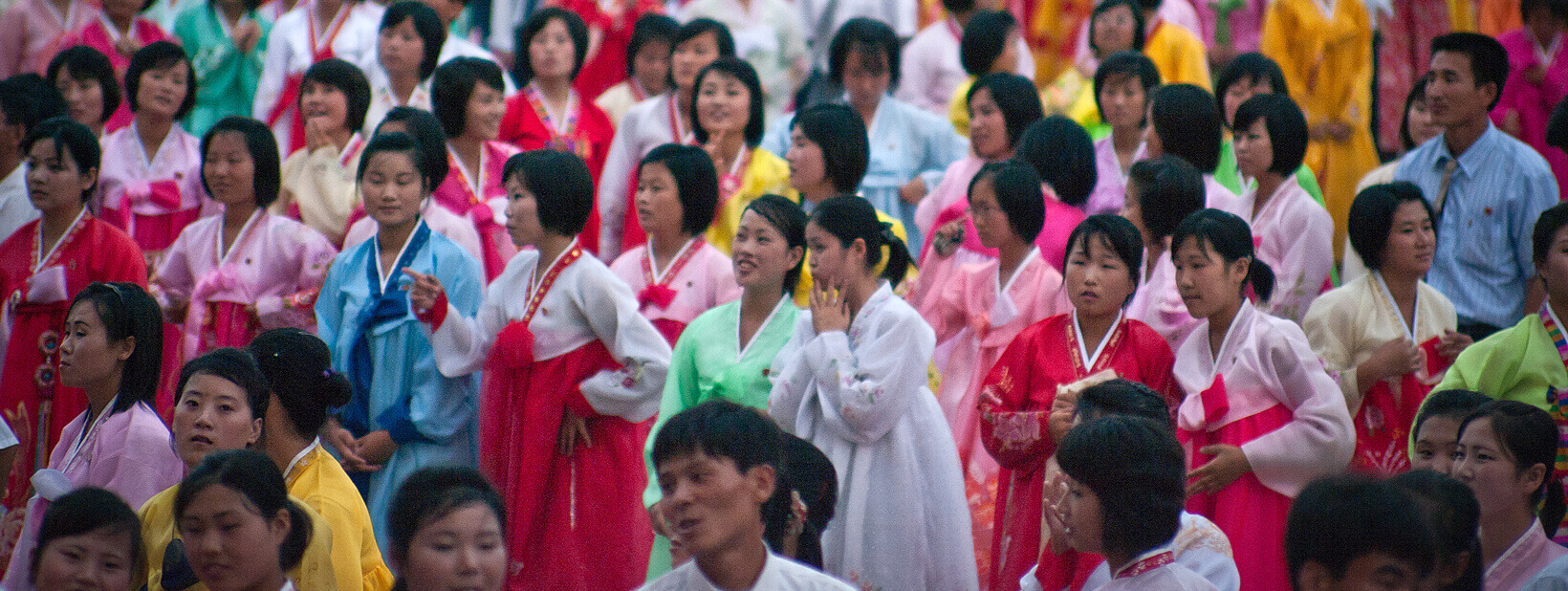 National Day mass dance in Pyongyang (Photo: Jen Morgan/Flickr)