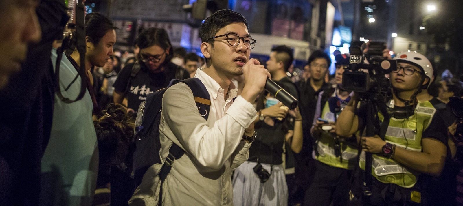 Nathan Law, lawmaker and chairman of the pro-democracy Demosisto. Photo: (Justin Chin/Getty Images)