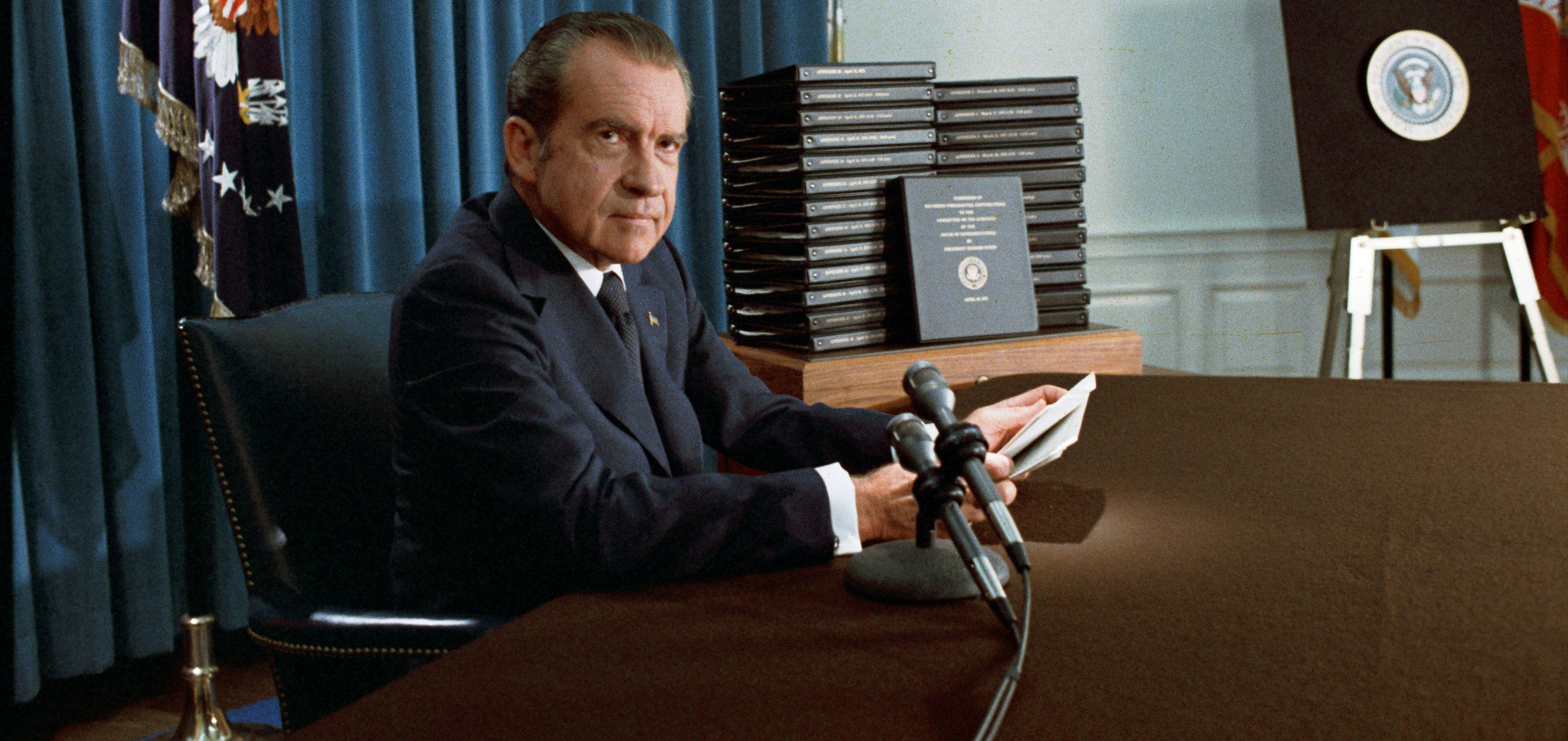 US President Richard Nixon, April 1974 (Photo: Wikimedia/National Archives & Records Administration)