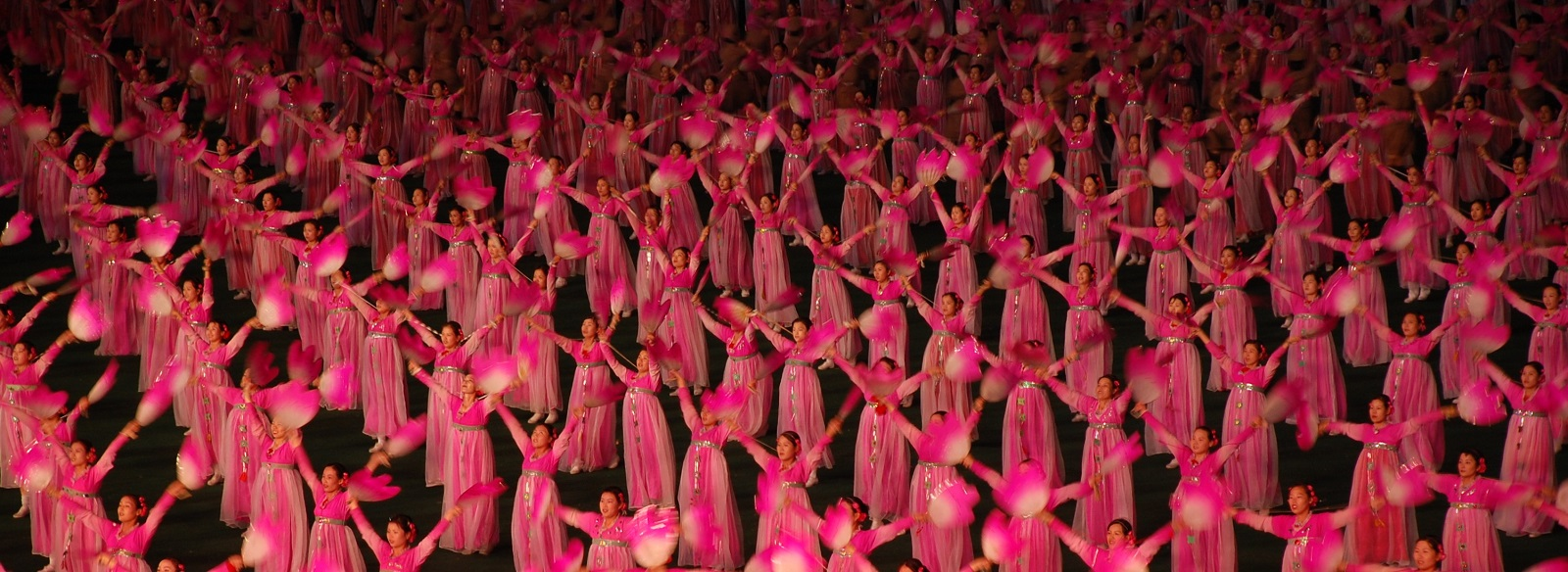 Mass games in Pyongyang  (Photo: Flickr/(stephan)