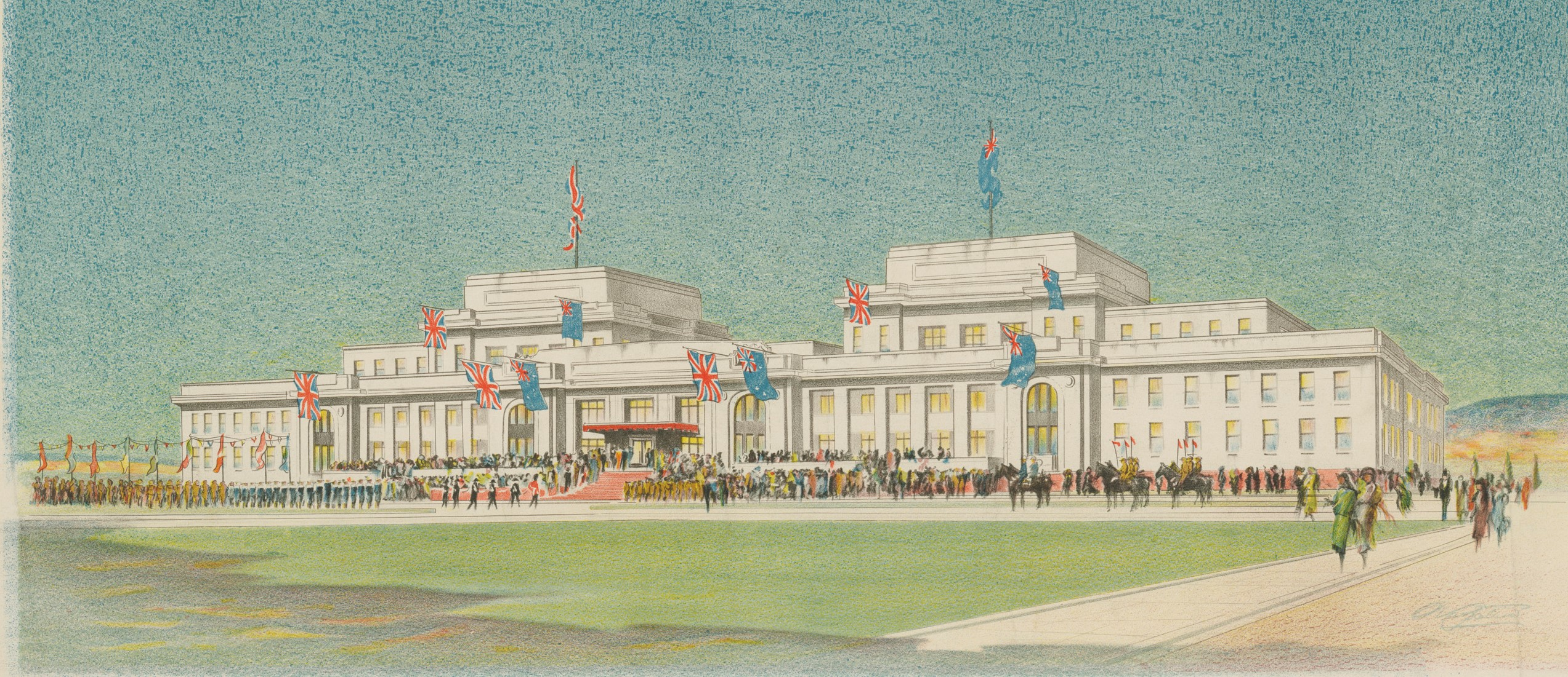 The opening of Old Parliament House, Canberra (Creative Commons Licence)