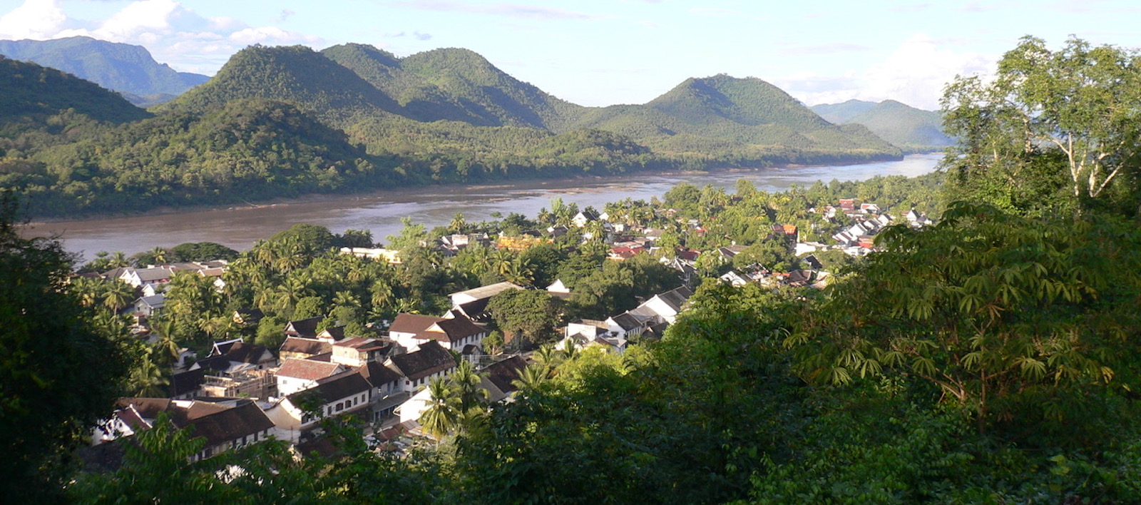Mekong at Luang Prabang (Photo: Milton Osborne)