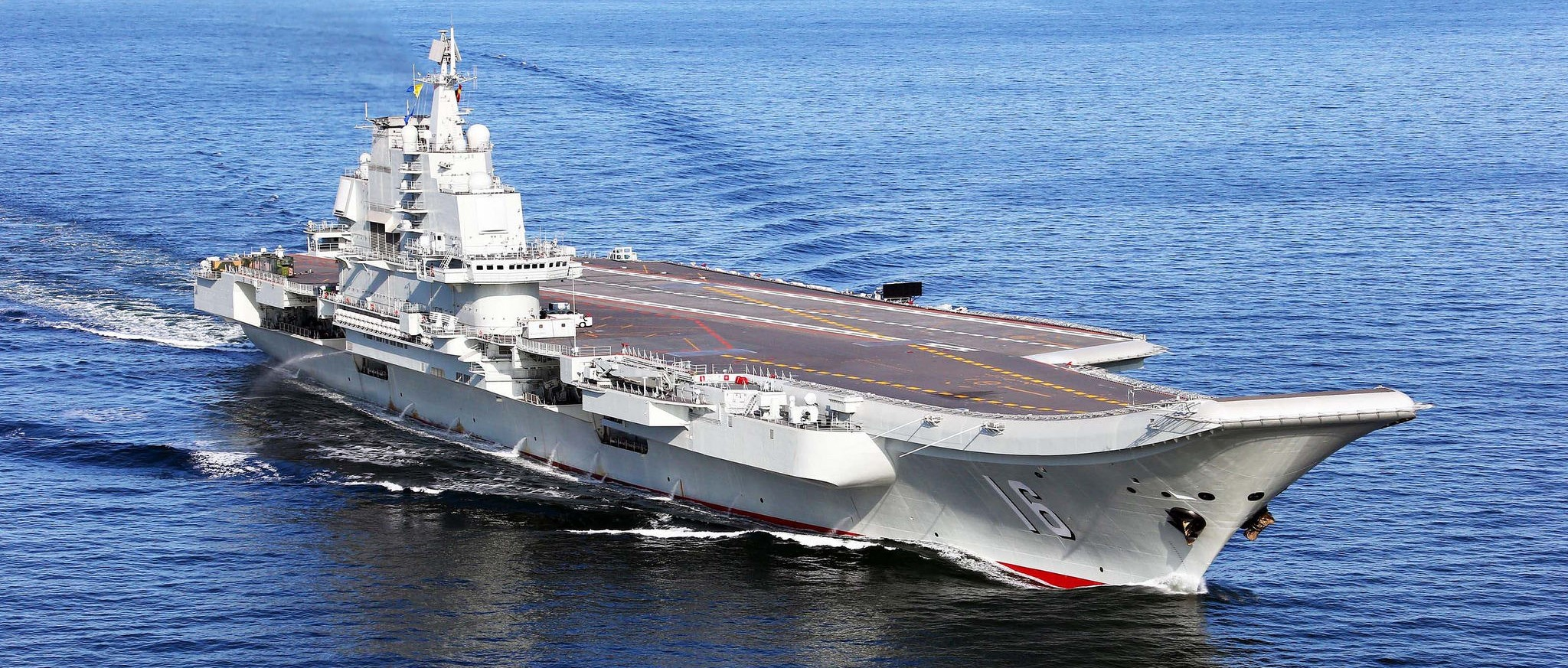 PLA Navy CV 16 (Photo: Flickr/Simon Yang)