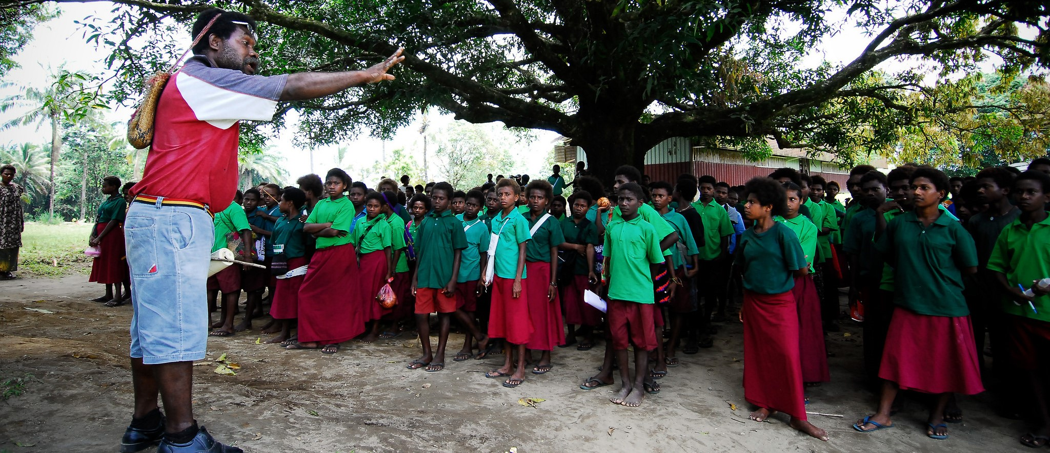 Education in Papua New Guinea (Photo: Flickr/Asian Development Bank)