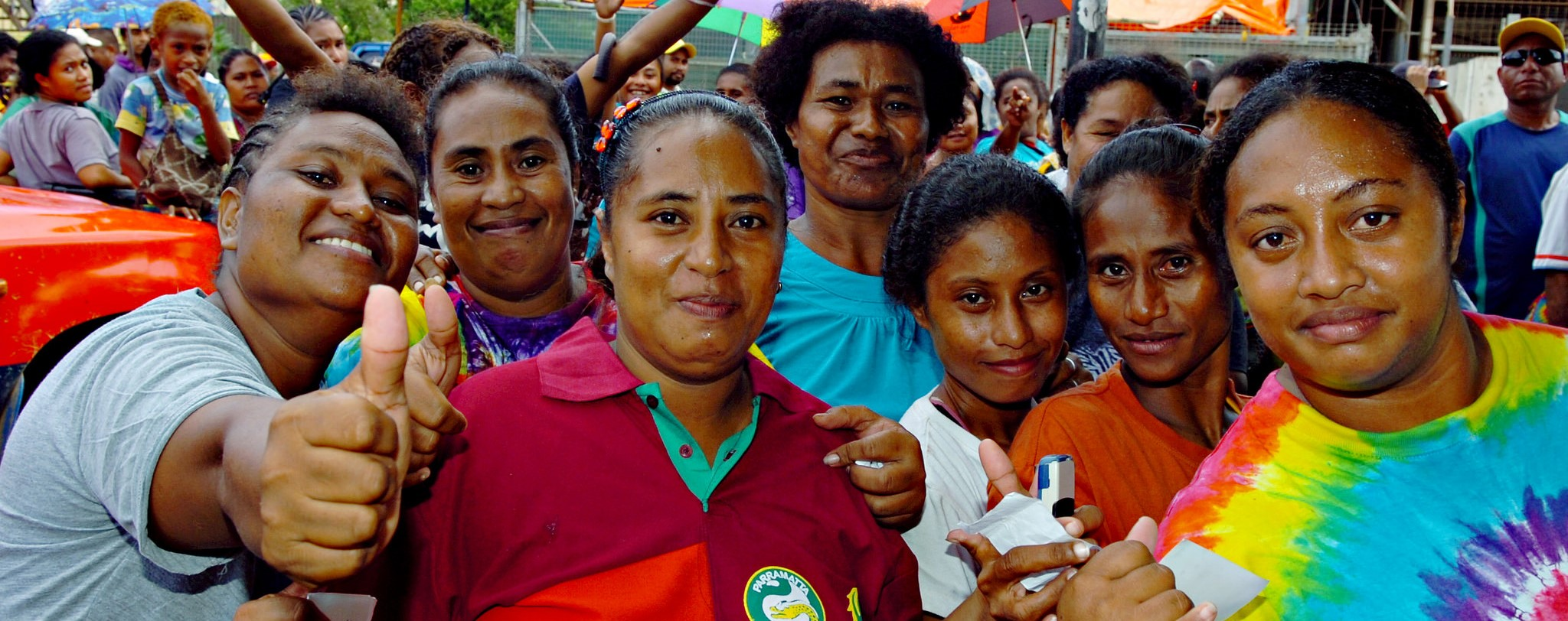 Voters in Port Moresby at PNG's 2012 election (Photo:Flickr/Commonwealth Secretariat)