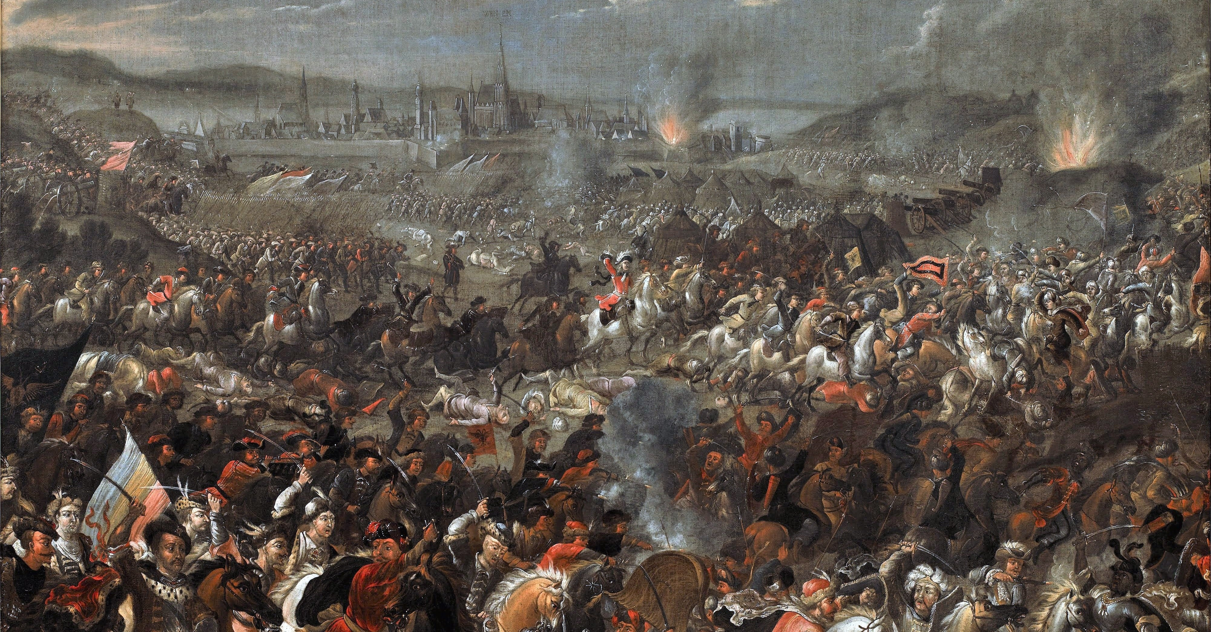 The Battle of Vienna in 1683, as depicted by Pauwel Casteels (Photo Wikimedia)