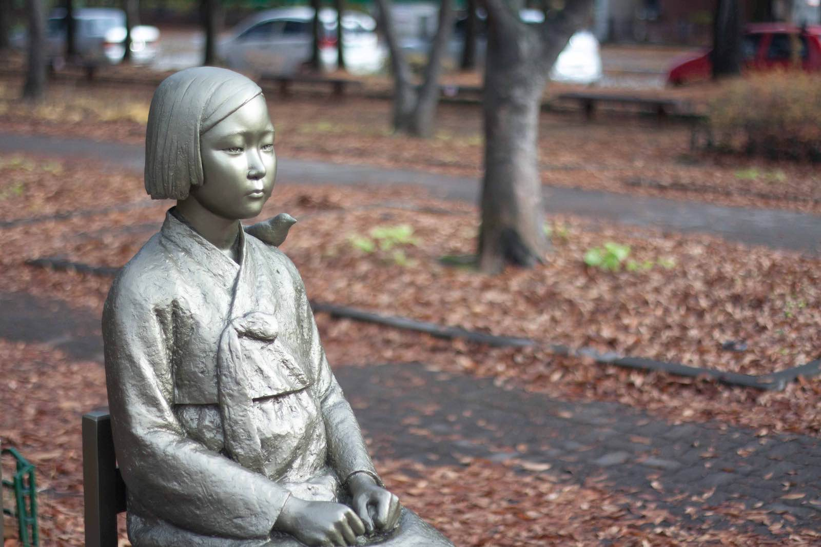 Statue of a Girl at Peace (Photo: Wikimedia Commons)