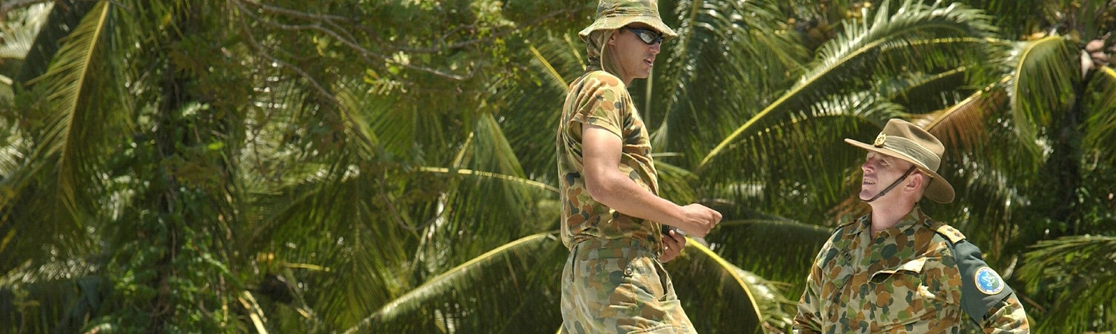 Australian RAMSI military personnel (Photo: Australian Defence Force Image Library)