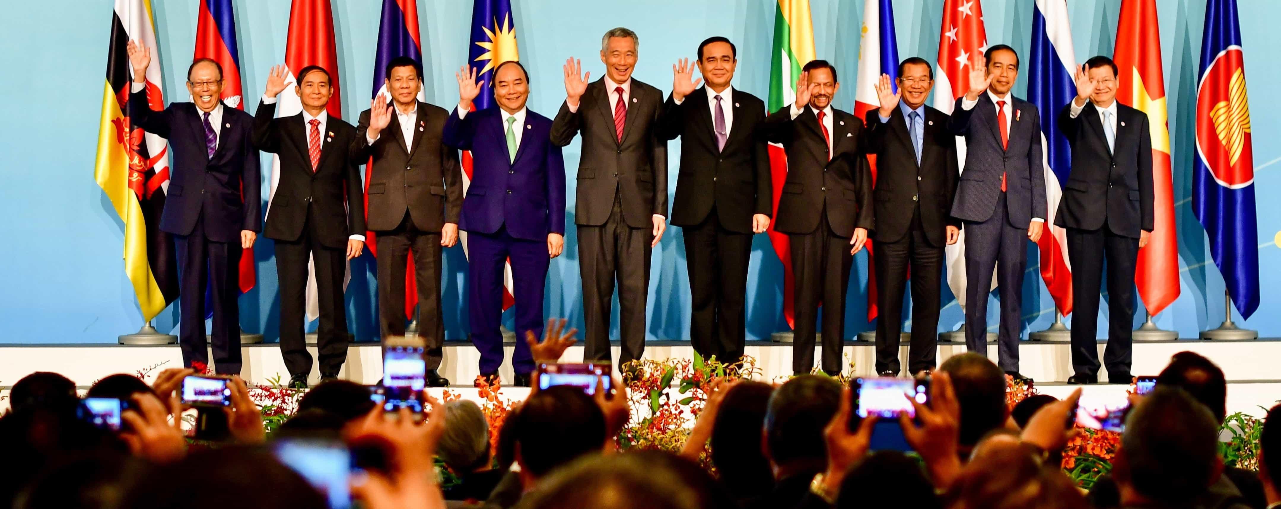 32nd ASEAN Summit, Singapore (Photo: Simon Roughneen)