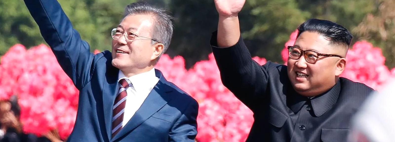 President Moon Jae-in and President Kim Jong-un (Photo: Vimeo)