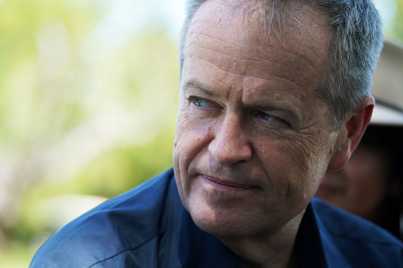 Shorten on the campaign trail, 18 April 2019. One clear difference between the parties will be on climate diplomacy. (Photo: Stefan Postles/Getty)