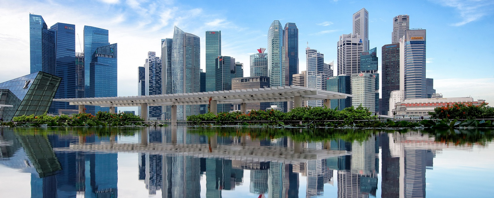 Singapore's central business district (Photo: Suhaimi Abdullah/Getty Images)
