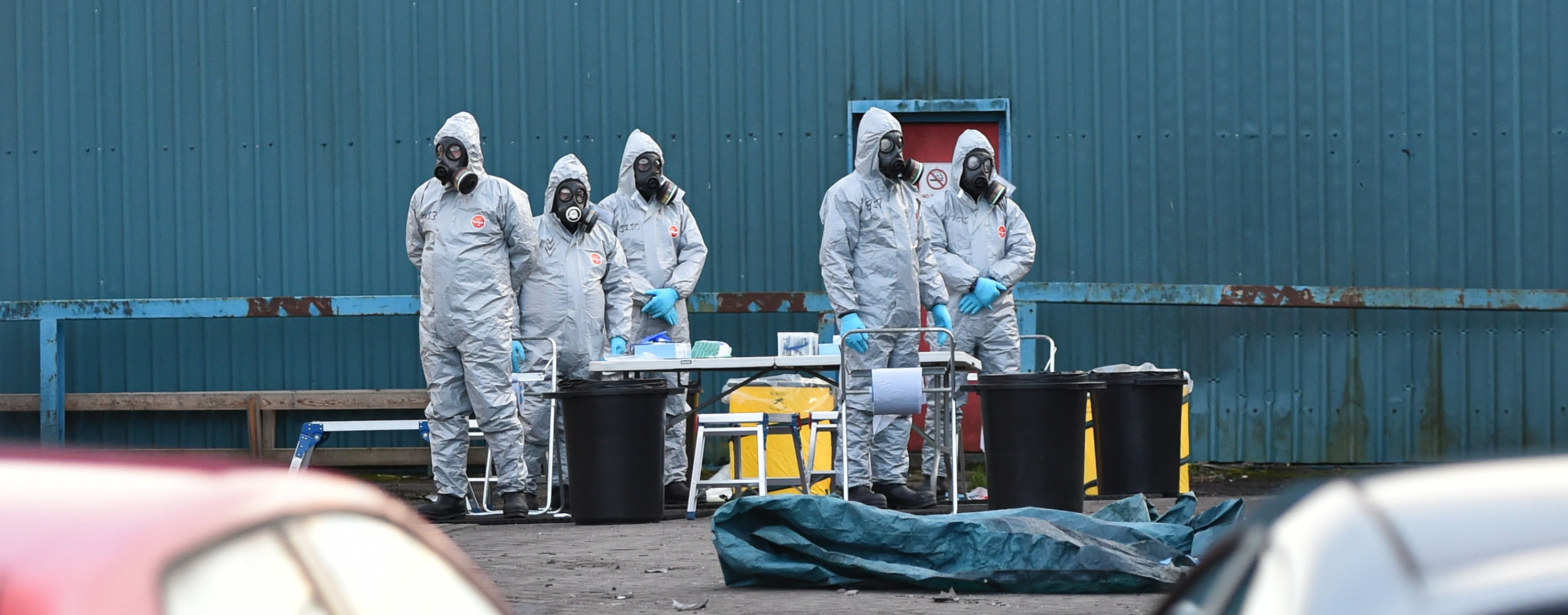 Police continue to investigate poisoning of Sergei Skripal In Salisbury (Photo: Rufus Cox/Getty Images)