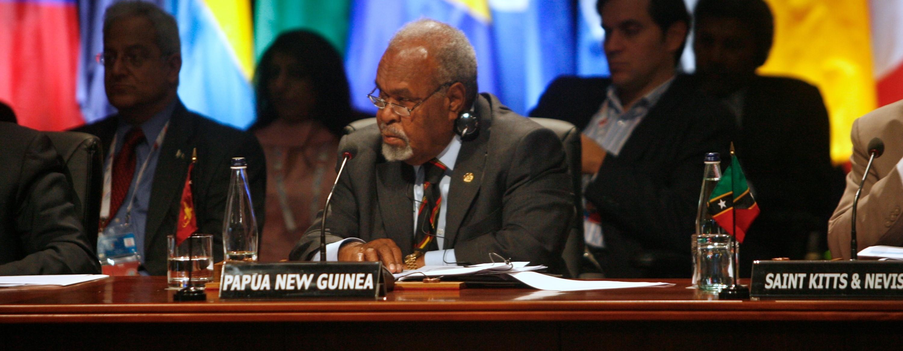Sir Michael Somare (Photo: Flickr/Commonwealth Secretariat)