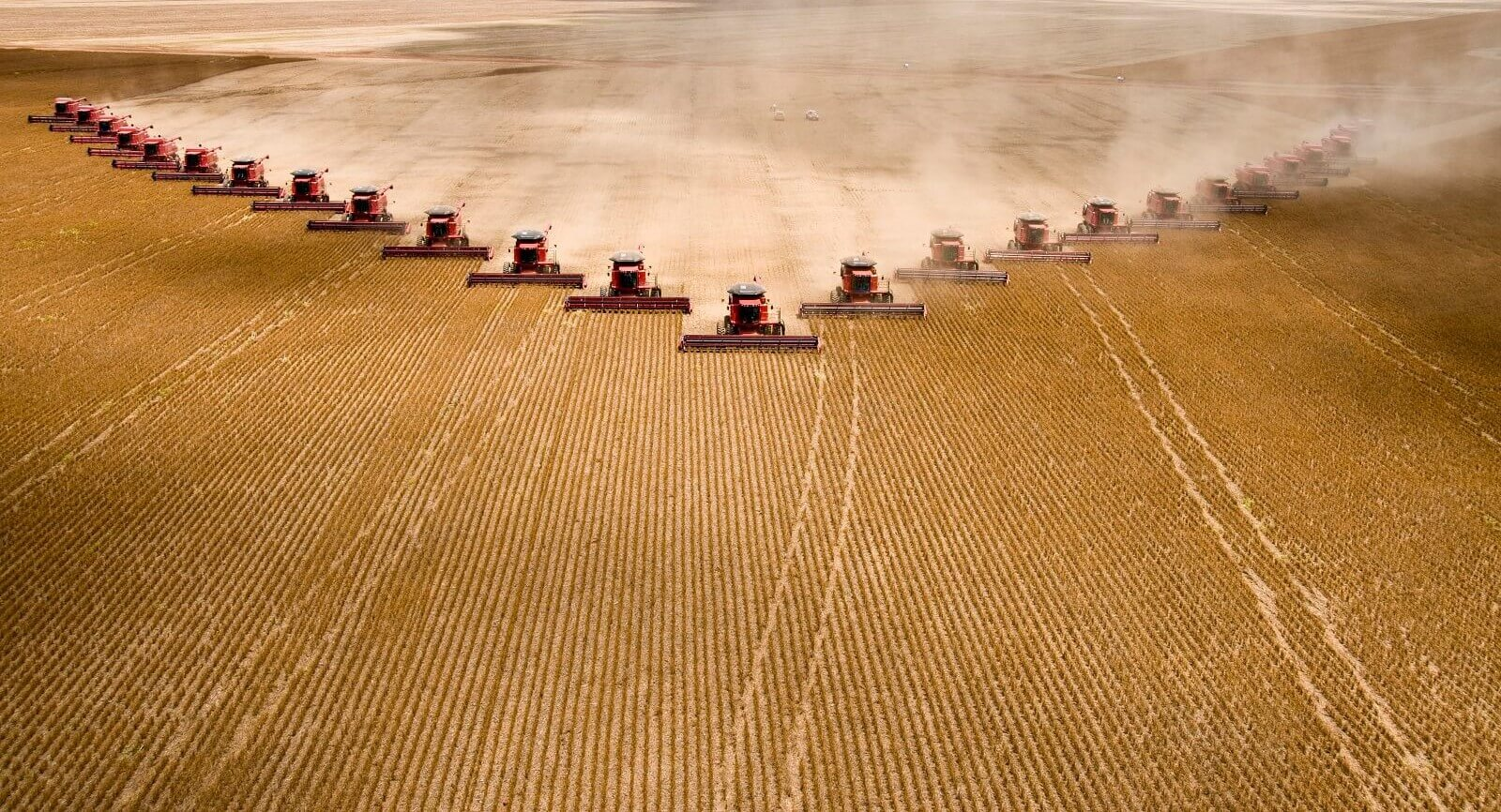 Soybeans are harvested in Brazil (Photo: Paulo Fridman, via Getty)