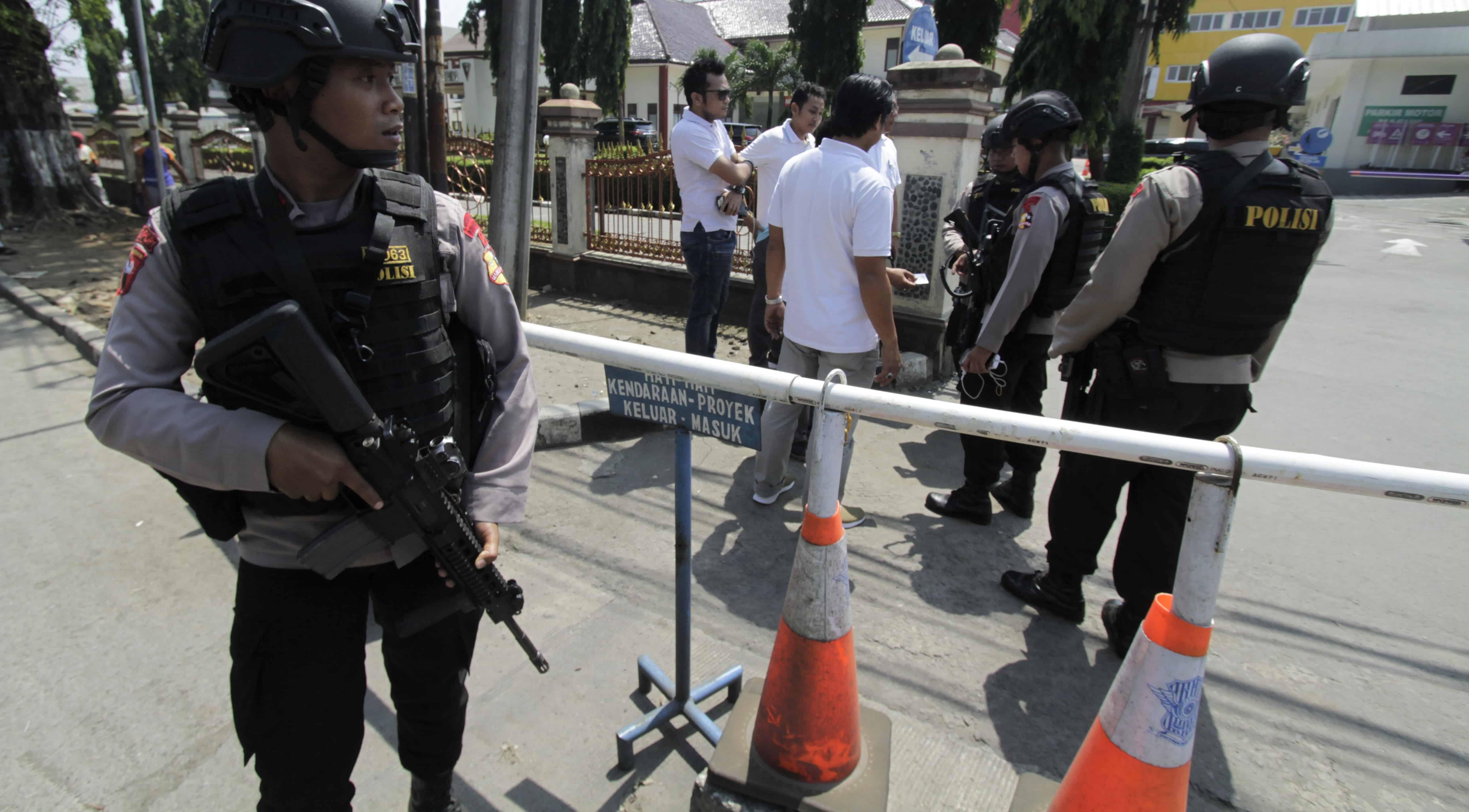 Indonesian police tighten security following Mako Brimob riot (Photo: Eko Siswono Toyudho/Getty)